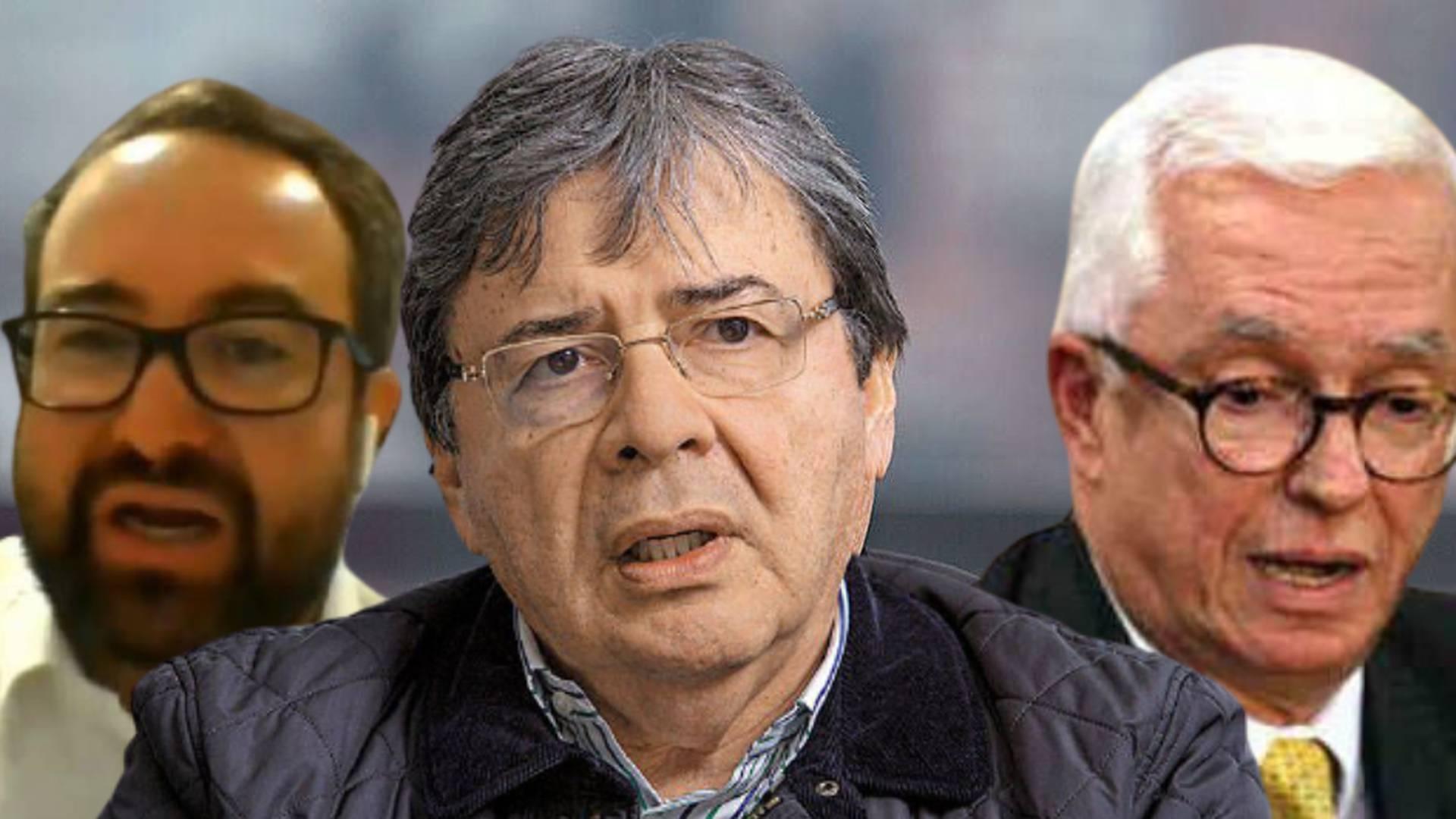 Ciro Ramírez, Carlos Holmes Trujillo, Jorge Enrique Robledo