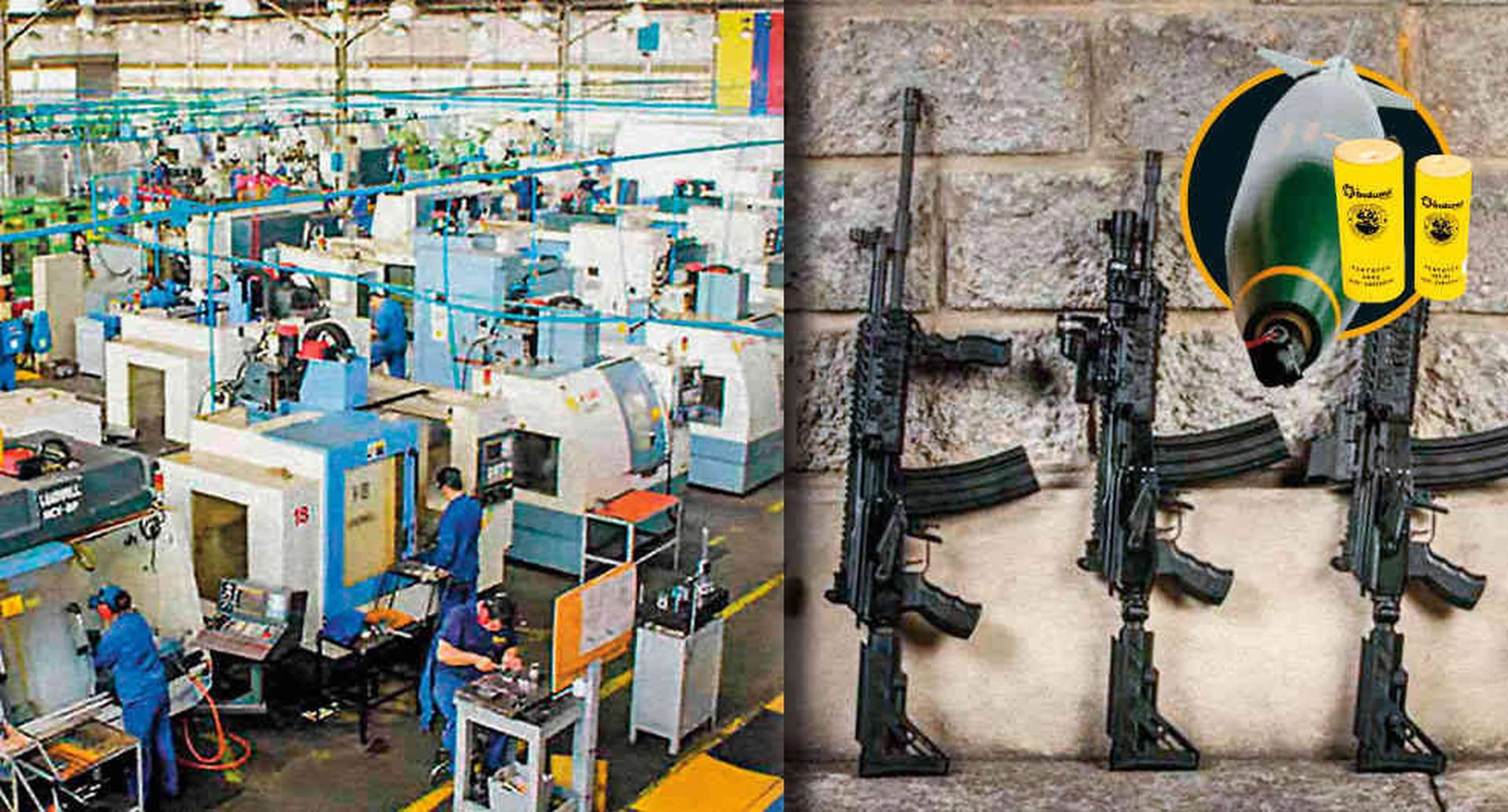 La Industria Militar Colombiana (Indumil) tiene tres fábricas en las que desarrolla armas, explosivos y municiones. Han exportado con éxito los fusiles Galil Córdova y las bombas MK 82.