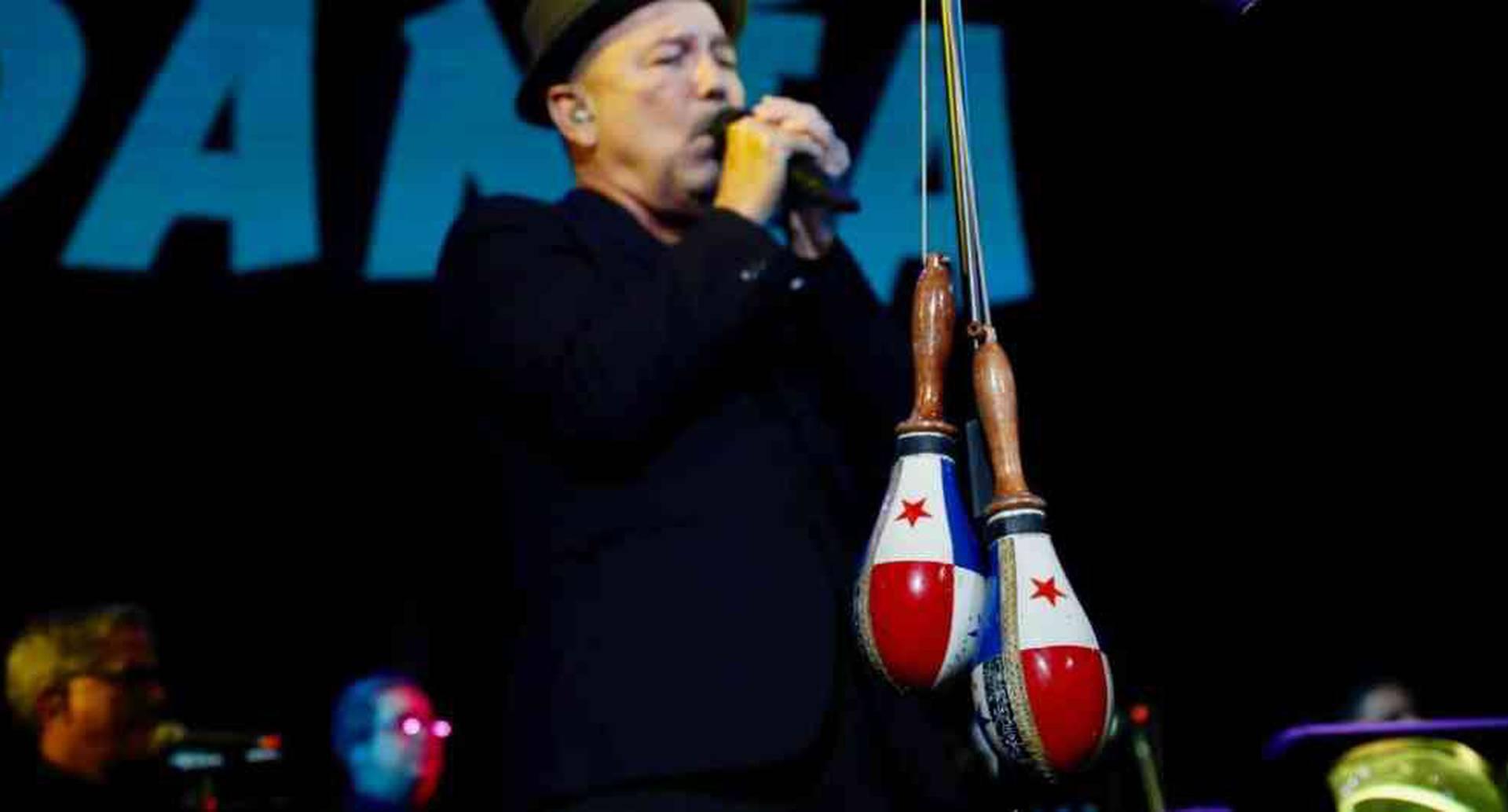 Un verdadero monstruo, en el mejor sentido de la palabra, Rubén Blades dejó su corazón en Colombia la noche del 15 de noviembre.