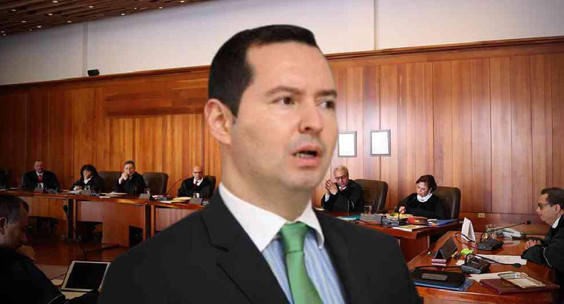Jorge Perdomo, exvicefiscal en la administración de Eduardo Montealegre