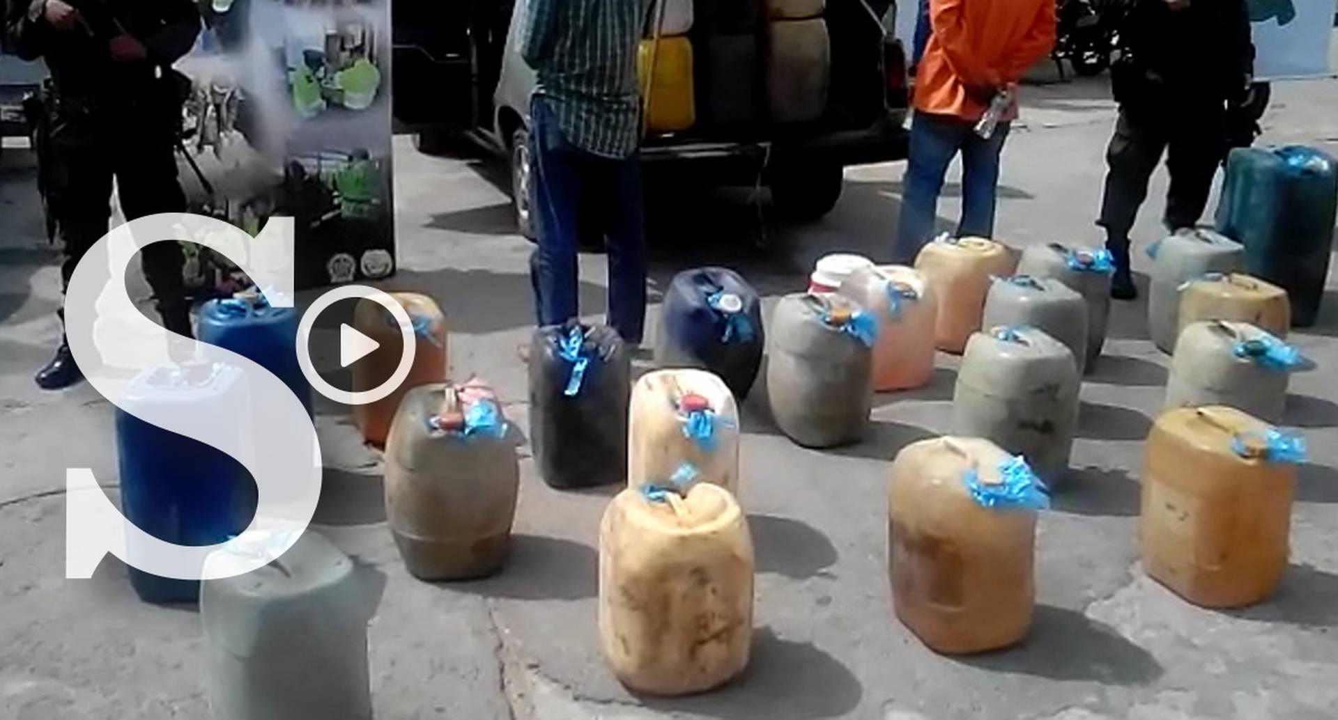 En los últimos días la Policía en La Guajira ha incautado más de 1.000 millones de pesos en contrabando. Videos muestran cómo guardan el cargamento.