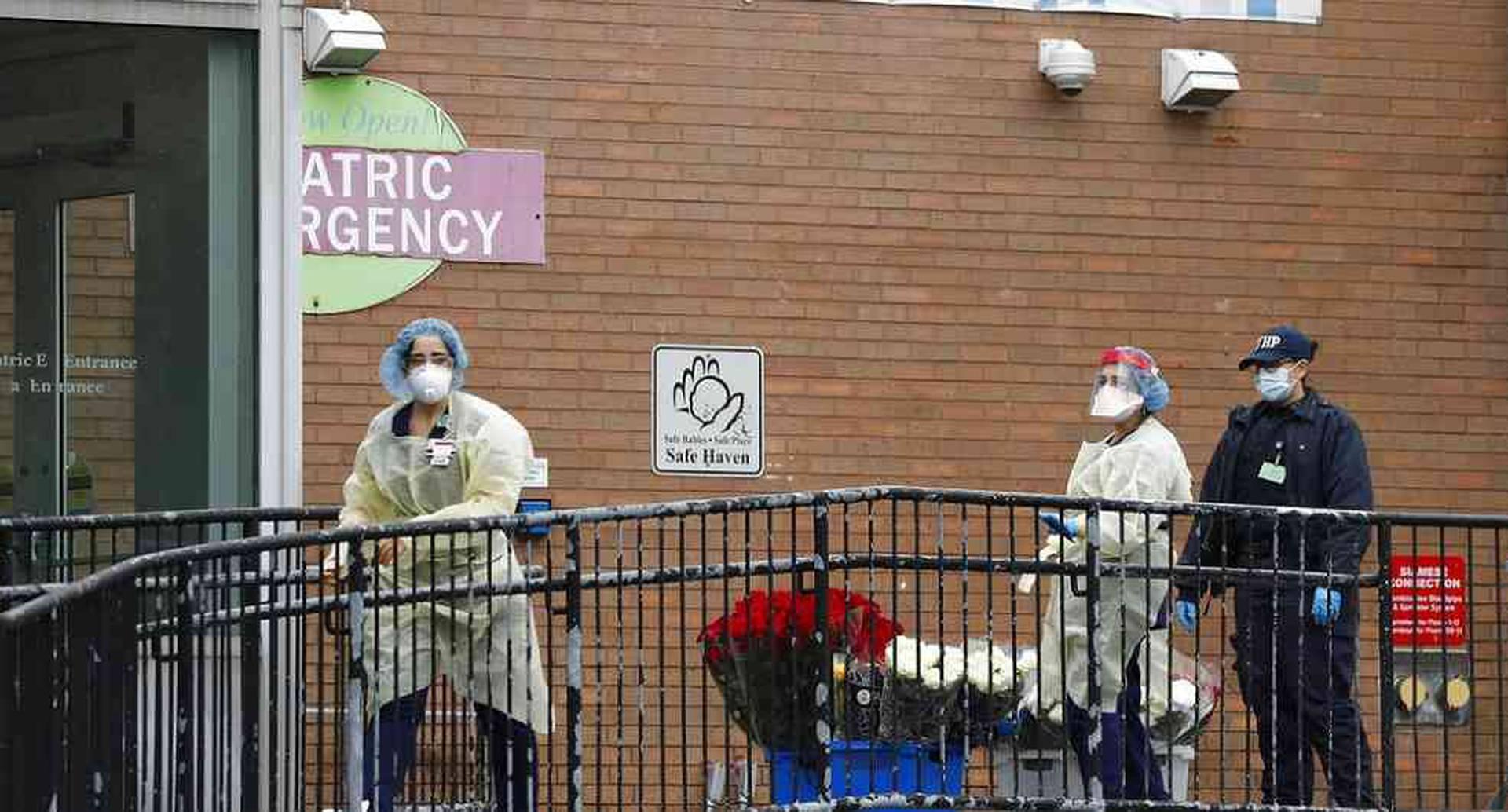 Hospital Elmhurst en Nueva York.