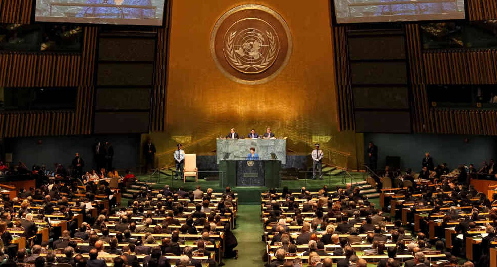 La ONU ratifica su oposición contra el bloqueo.
