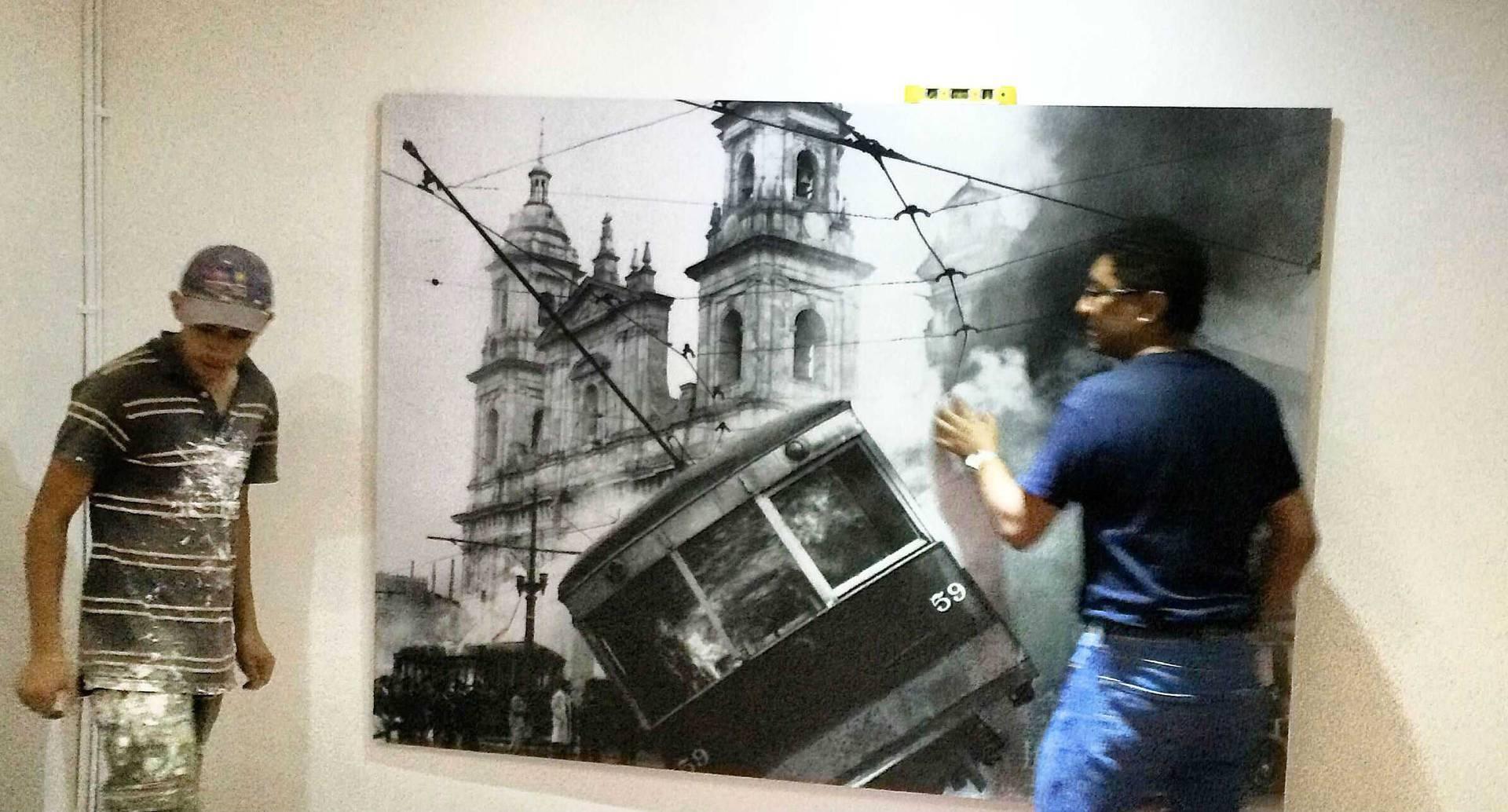 Exhibición de las fotografías de Tito Julio Celis, el amigo de Jorge Eliecer Gaitán.
