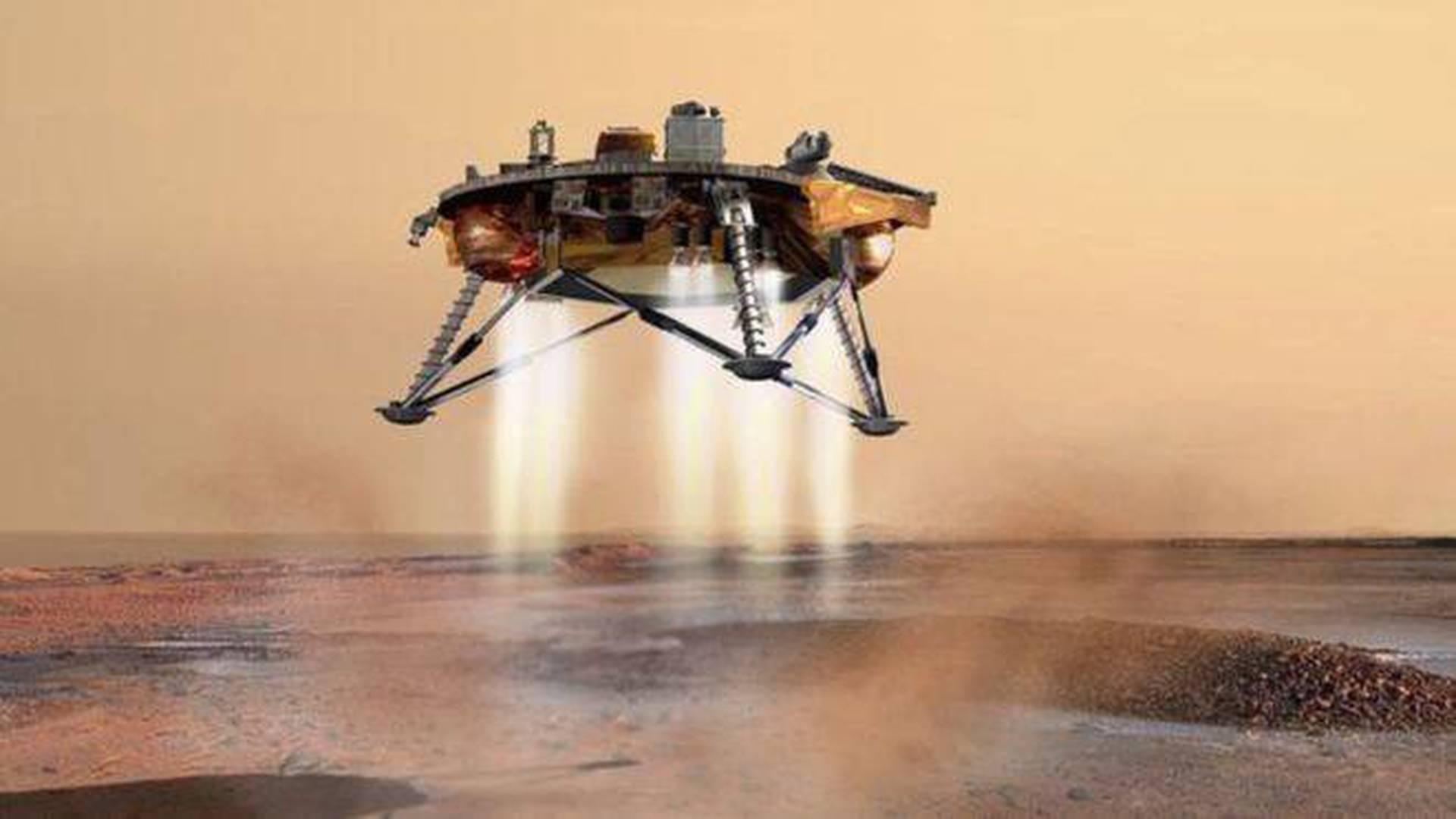 En noviembre de 2018 InSight entró en la atmósfera marciana a 19.800 km por hora. Para lograr un aterrizaje exitoso, tuvo que reducir su velocidad en menos de siete minutos a solamente 8 km por hora.