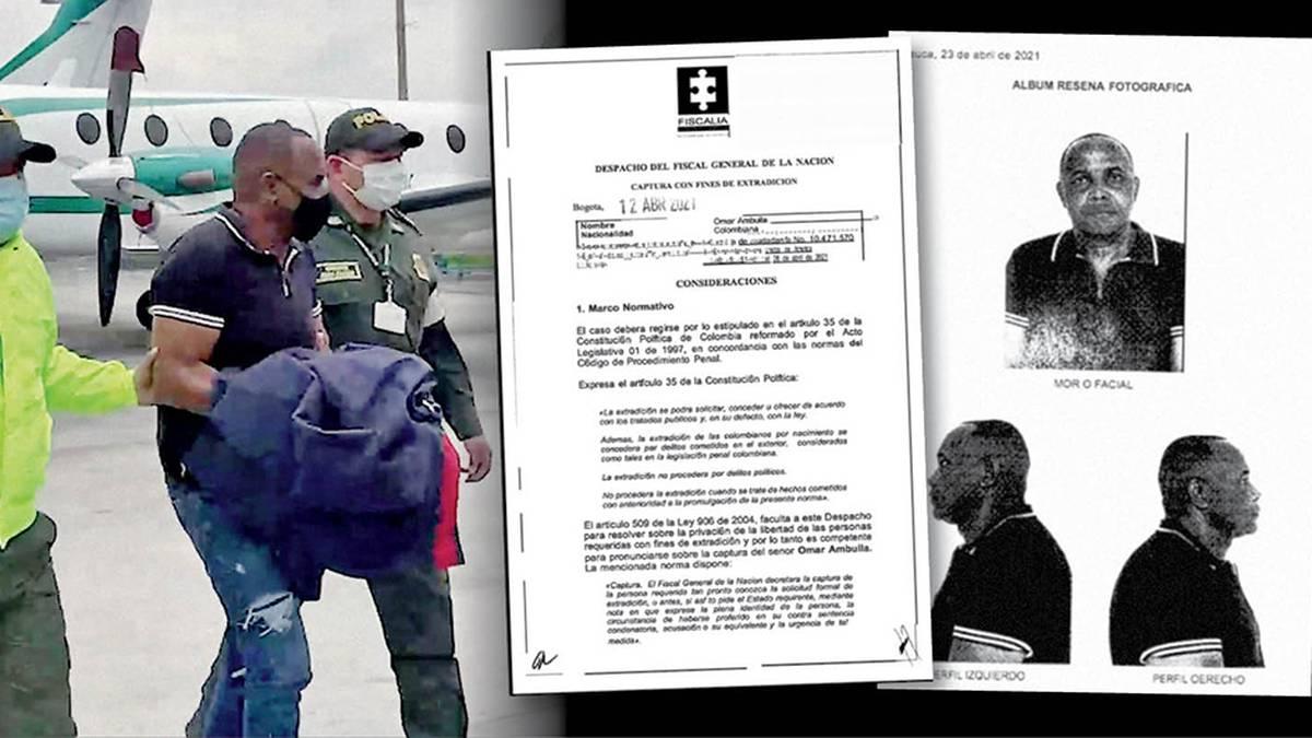 Este es el indictment con el que la justicia de Estados Unidos pidió la extradición de Ambuila.