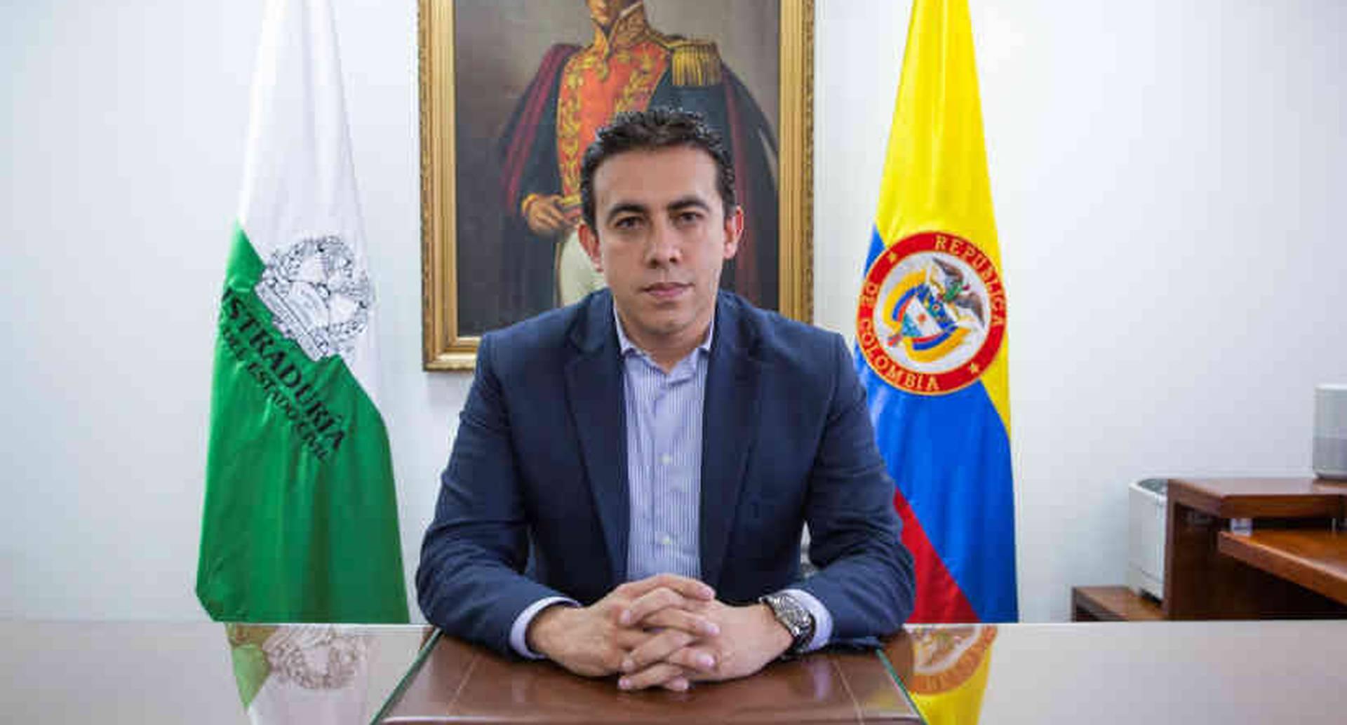 El registrador nacional del Estado Civil, Alexander Vega.
