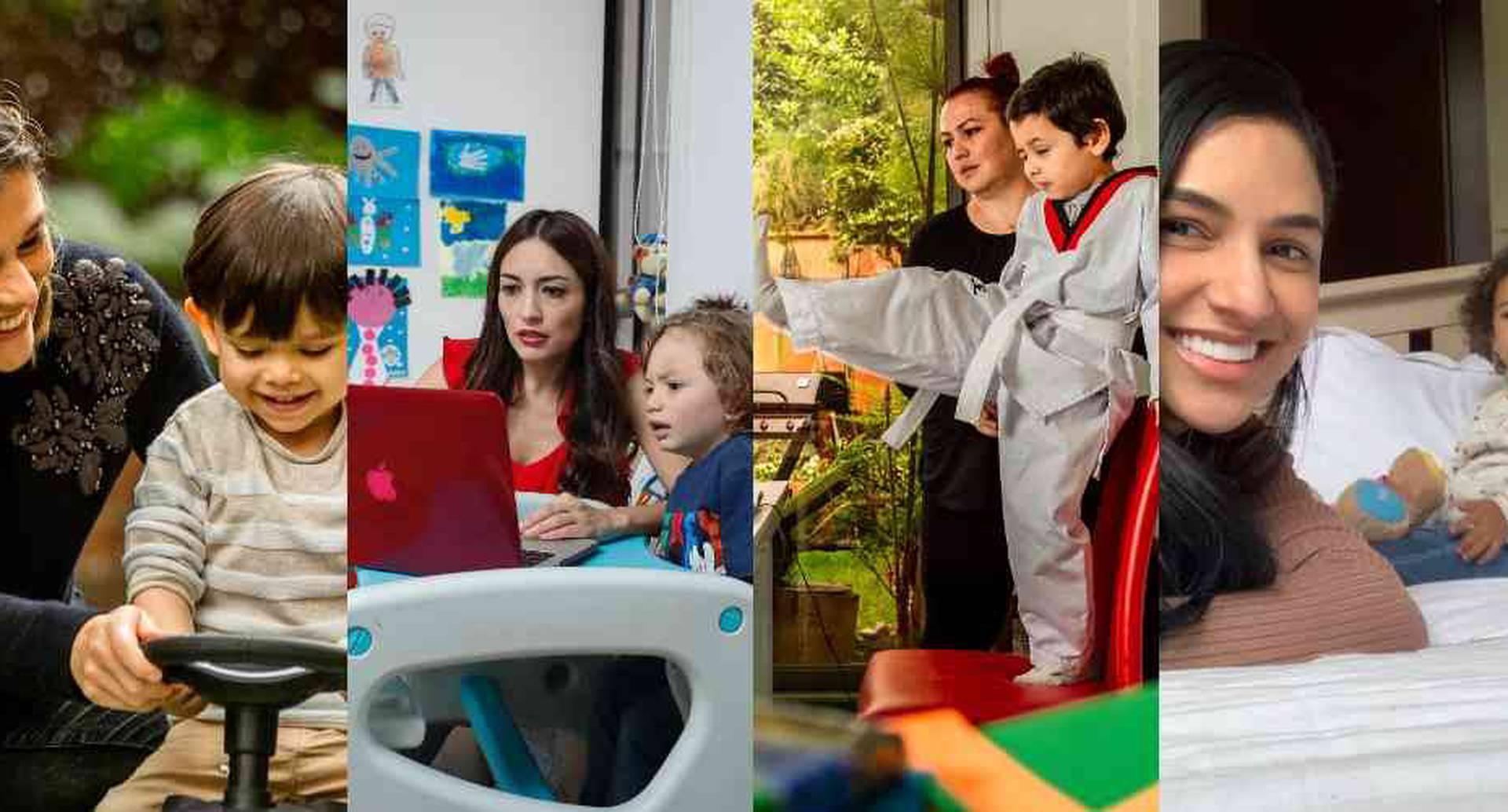 Para los padres ha sido una situación complicada pues, según explican los expertos, los primeros años son relevantes para el proceso de formación de los niños.