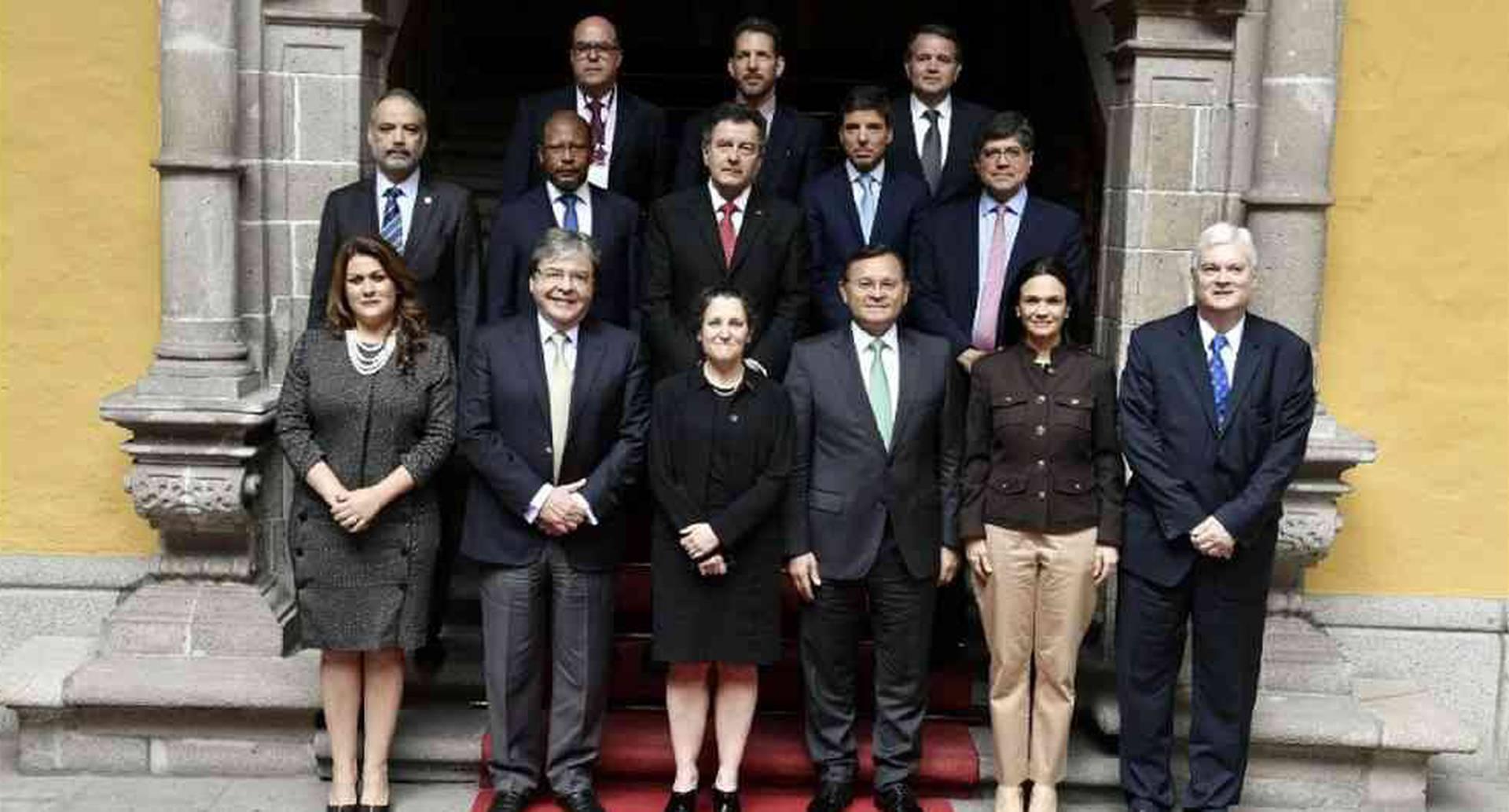Con Evo Morales fuera del camino, Bolivia se sumó al Grupo de Lima.