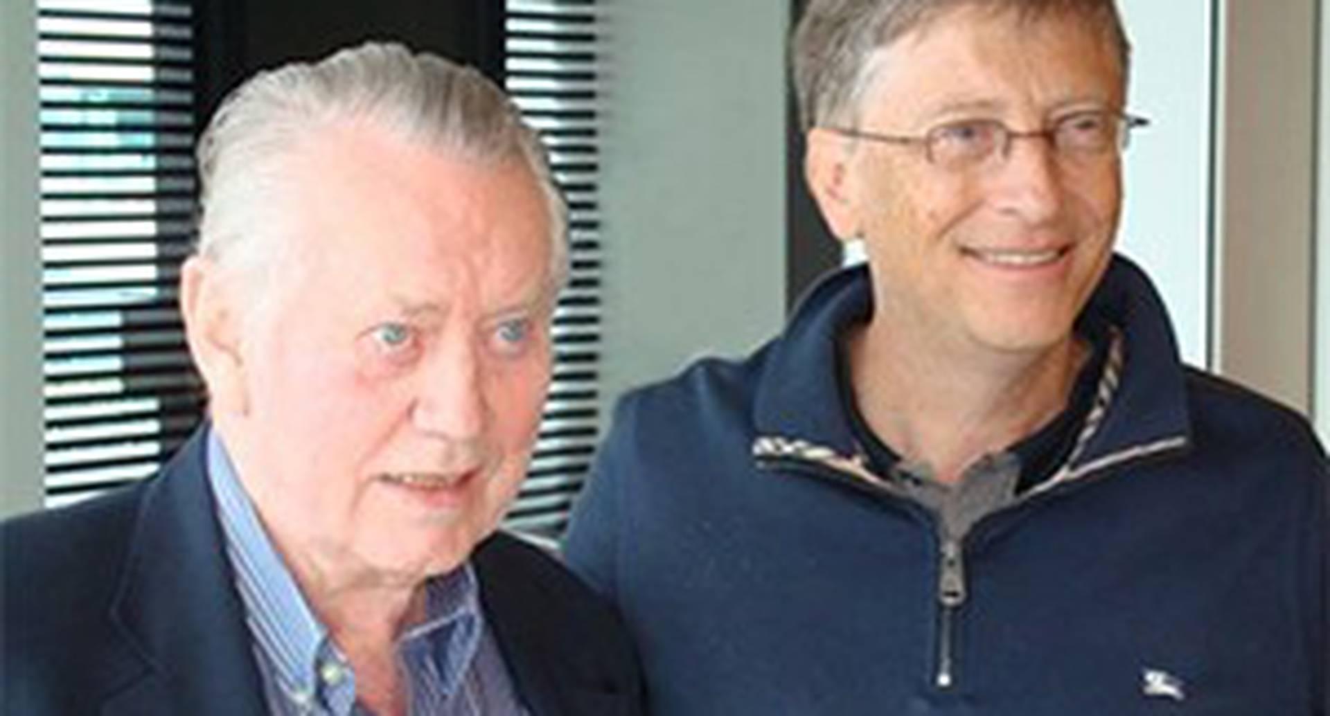 Chuck Feeney y Bill Gates