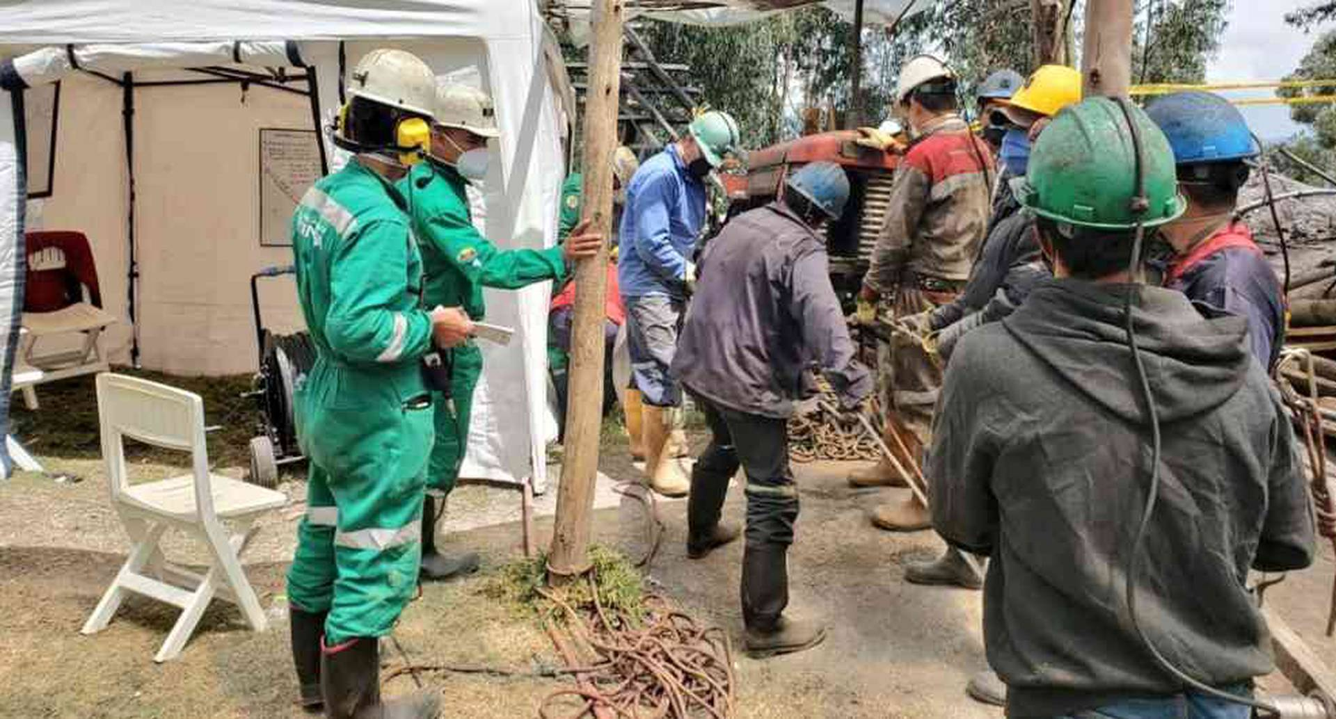 Mineros atrapados en Sogamoso: avanzan labores de rescate | Colombia hoy