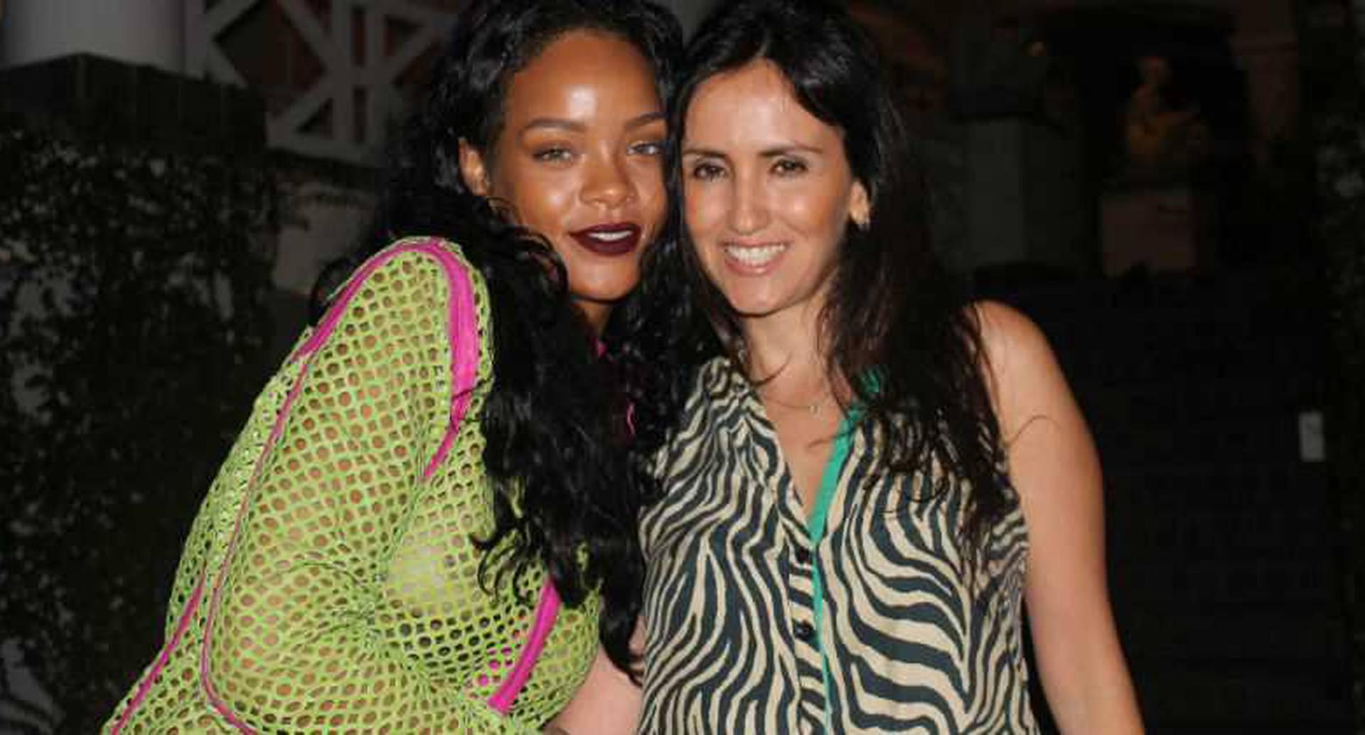 Rihanna y Juliana Guzmán. Foto: Cortesía Rio Exclusive