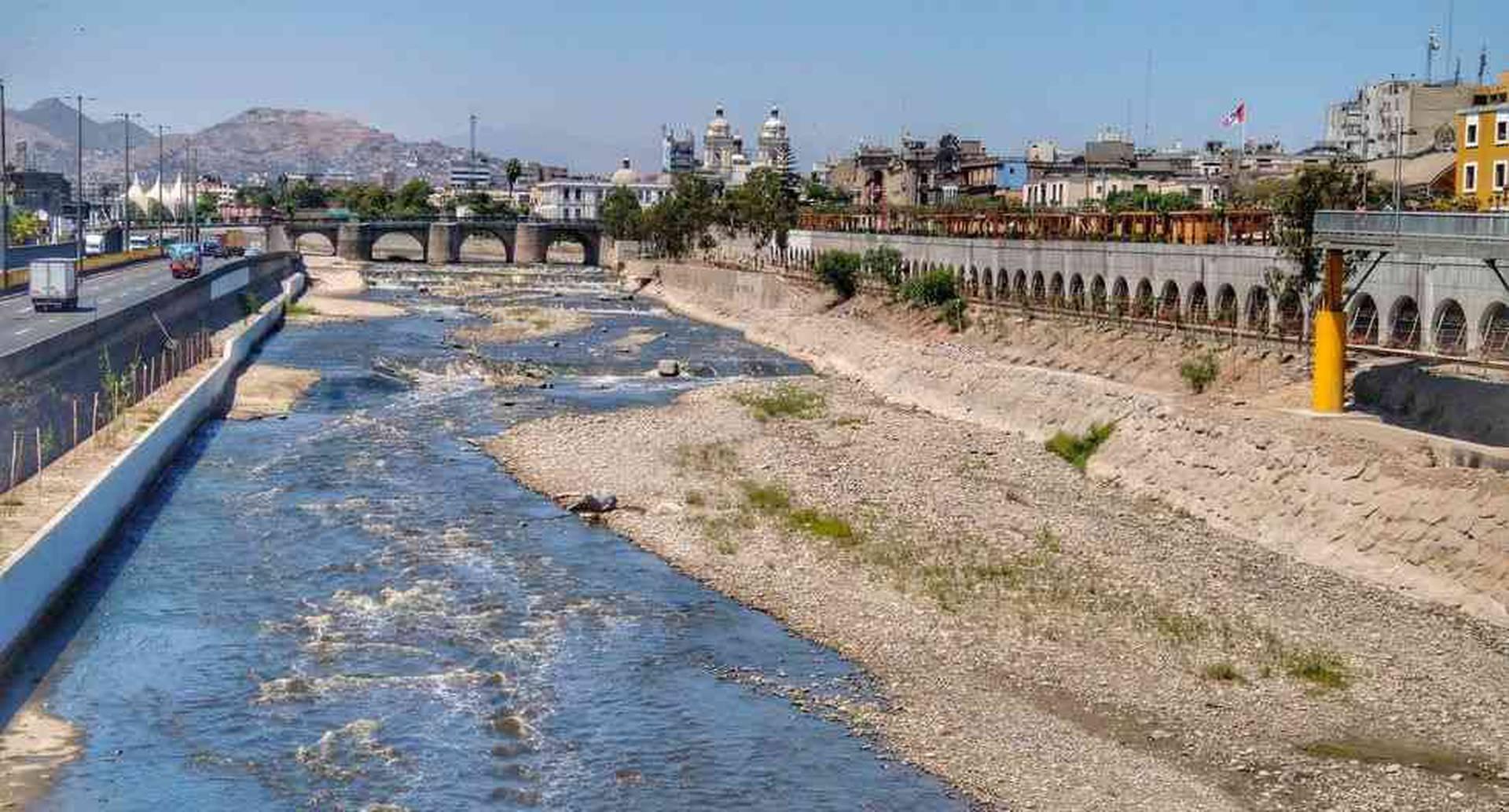 Río Rimac, en Perú