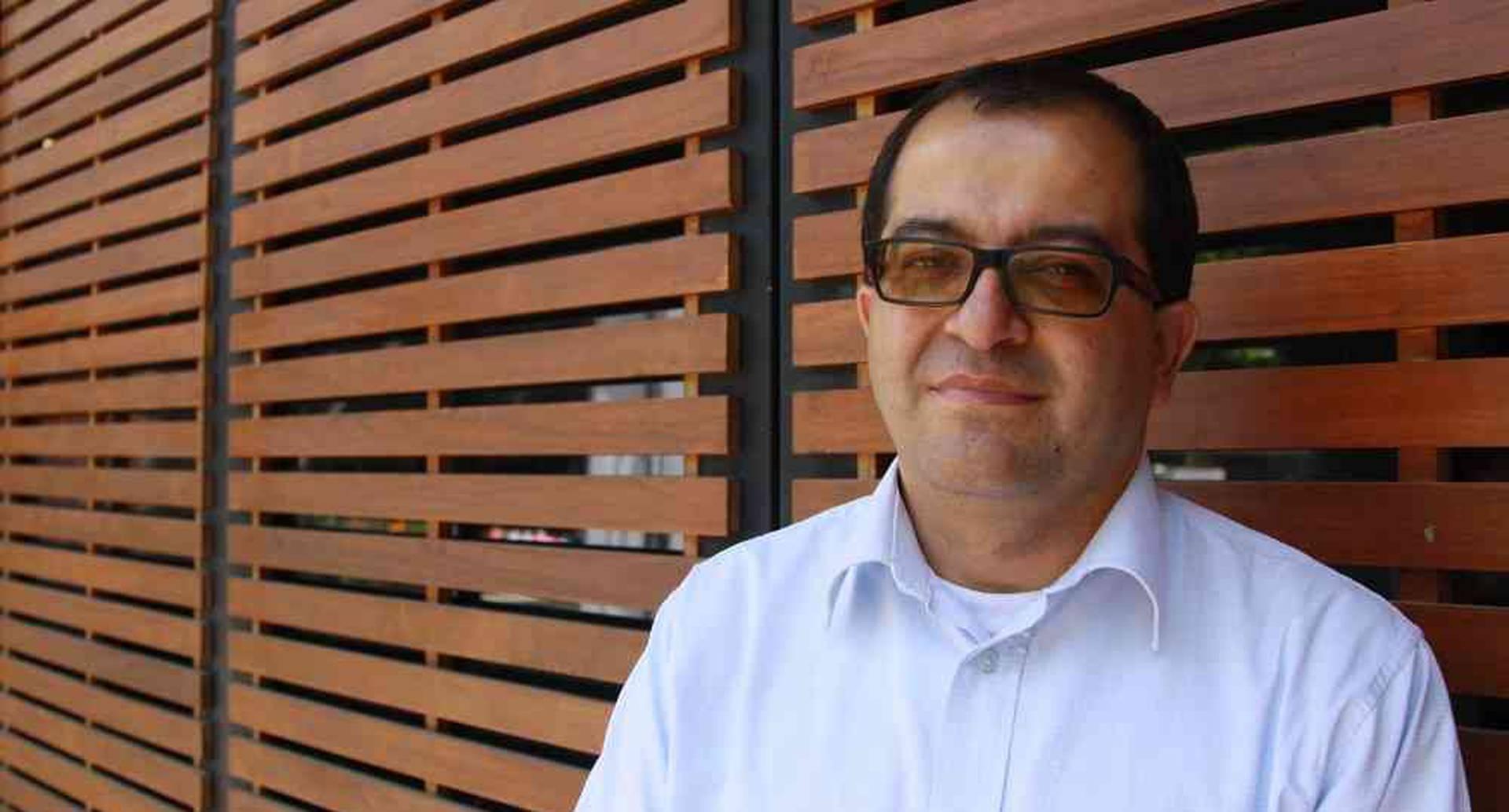 Fernando Ramírez, editor del diario caldense La Patria.