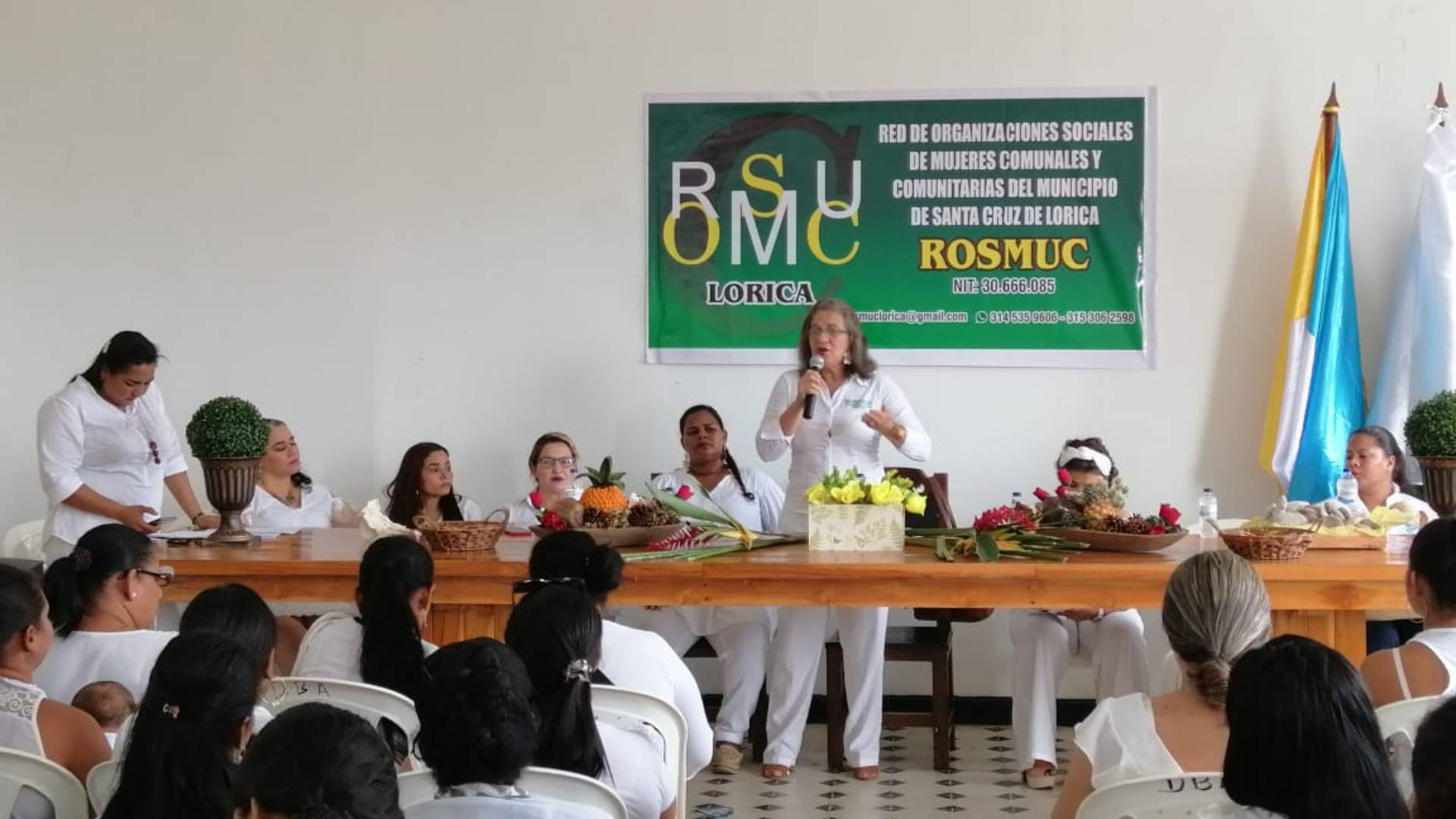 En uno de los departamentos con el mayor índice de analfabetismo en el país, Fráncisca Sánchez ha hecho su misión de vida educar a las mujeres cordobesas en derechos para así cambiar su región .