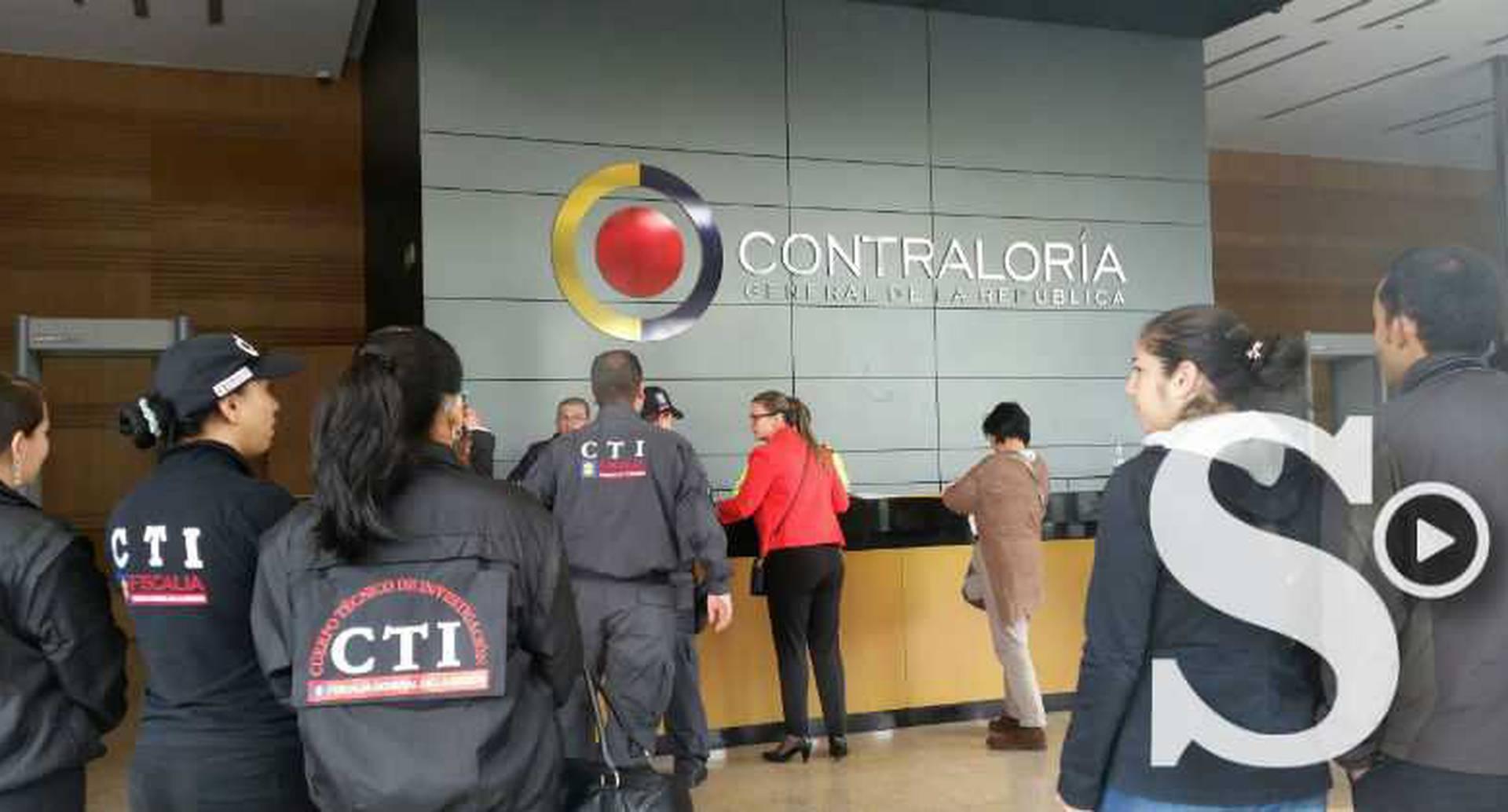 CTI allanó la sede de Gran Estación donde quedaba la Contraloría