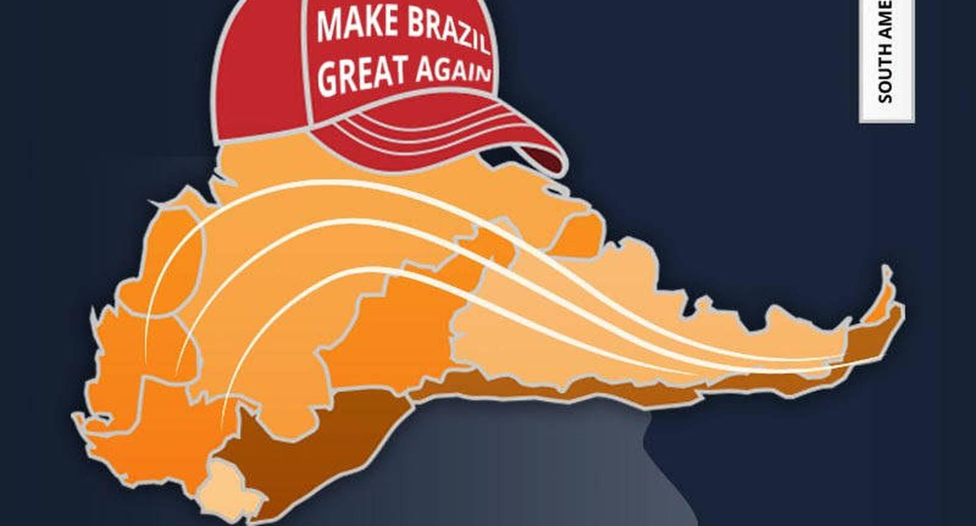Donald Trump fue uno de los primeros en llamar a Bolsonaro para felicitarlo por su victoria. La alianza está servida.