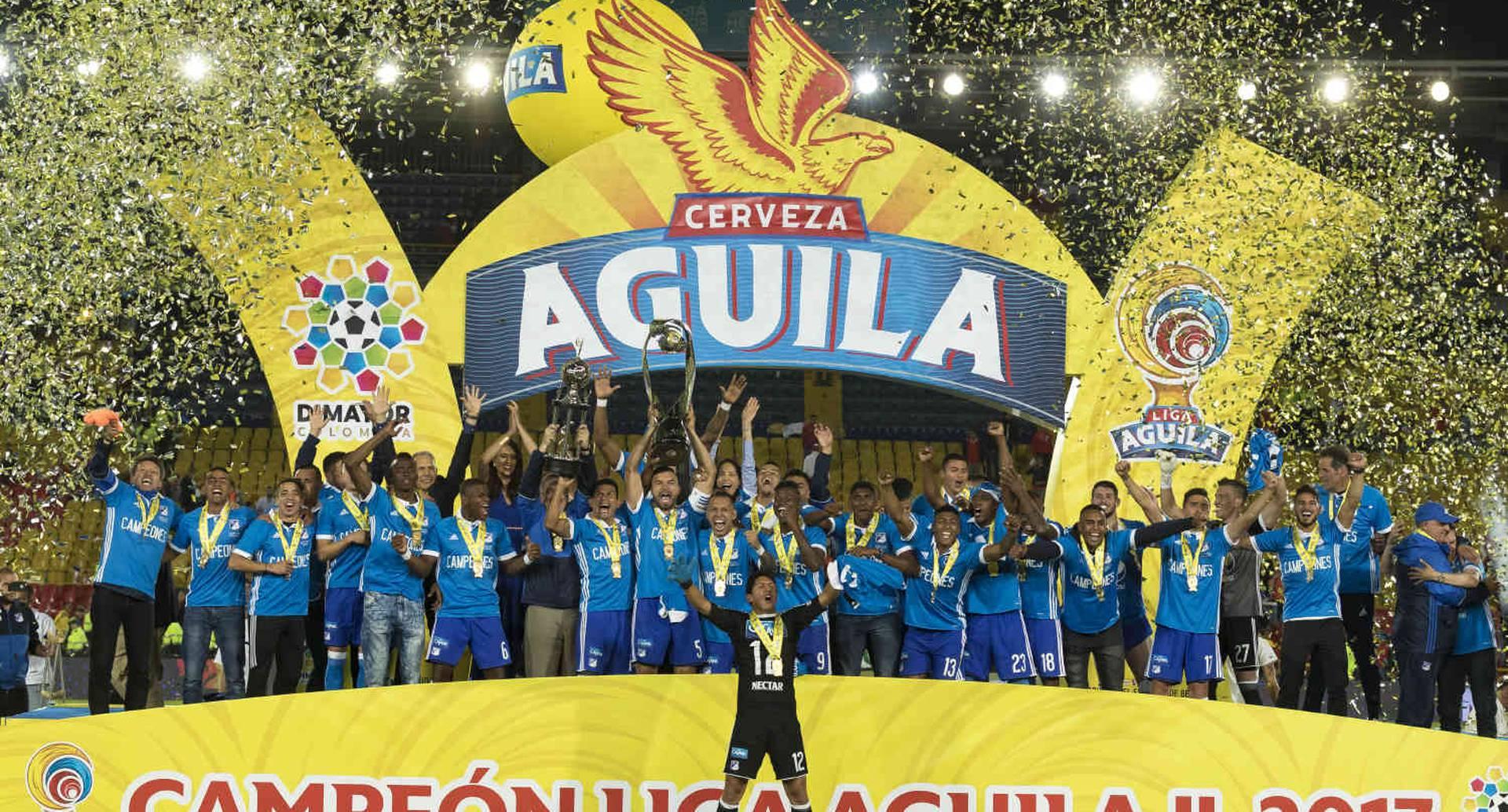 Millonarios logró su estrella 15 en El Campín.  Foto: Esteban Vega / SEMANA