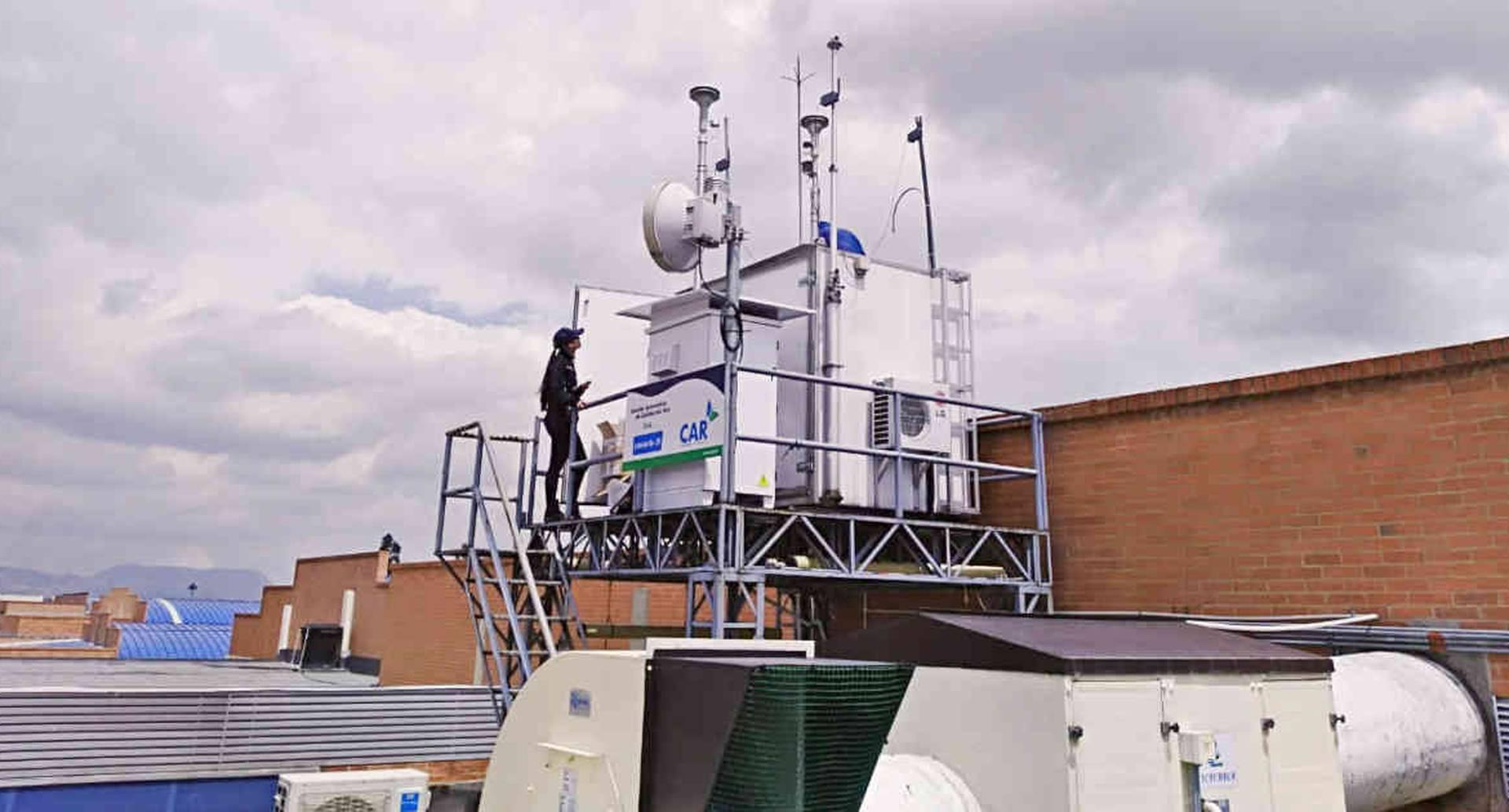 La disminución de material particulado en Soacha y Mosquera registrados por las estaciones de monitoreo de calidad del aire, permitieron levantar las restricciones. Foto: CAR Cundinamarca.