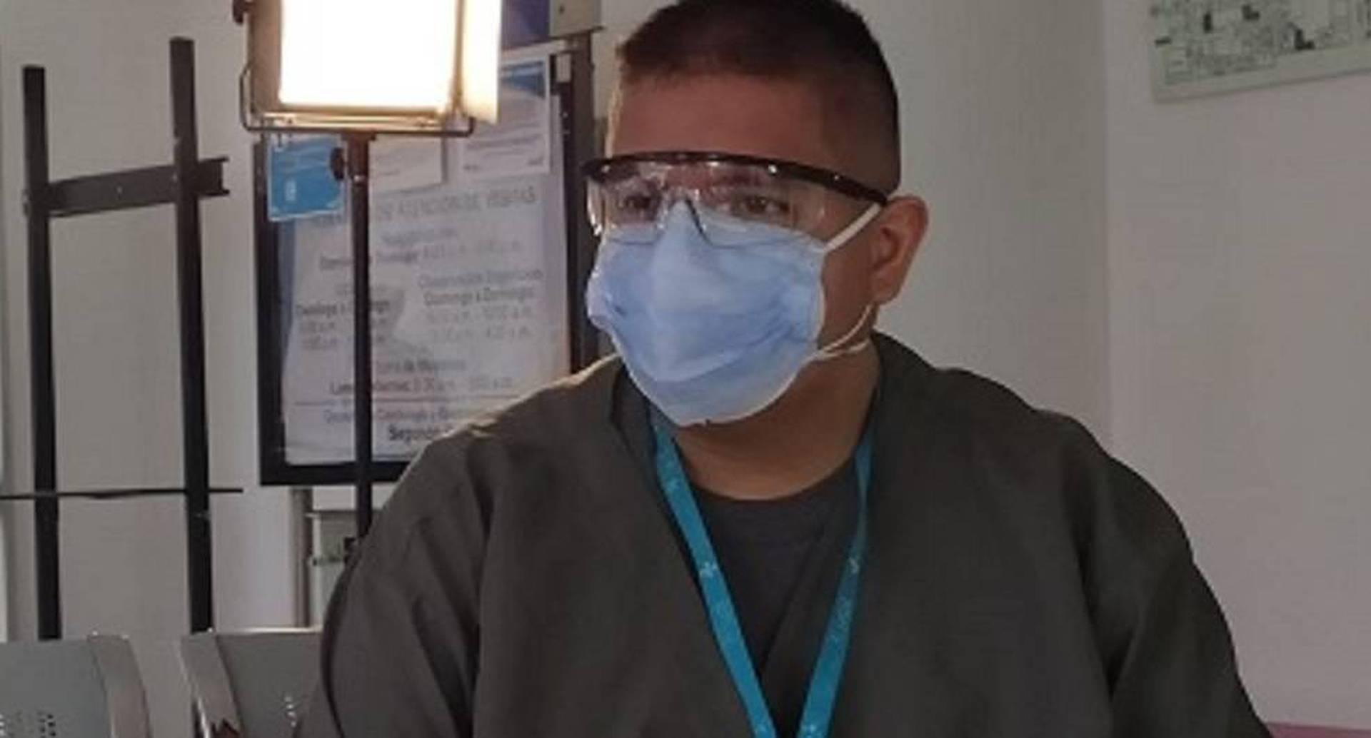 """""""Fue horrible"""": testimonio de enfermero bogotano que sobrevivió al coronavirus."""