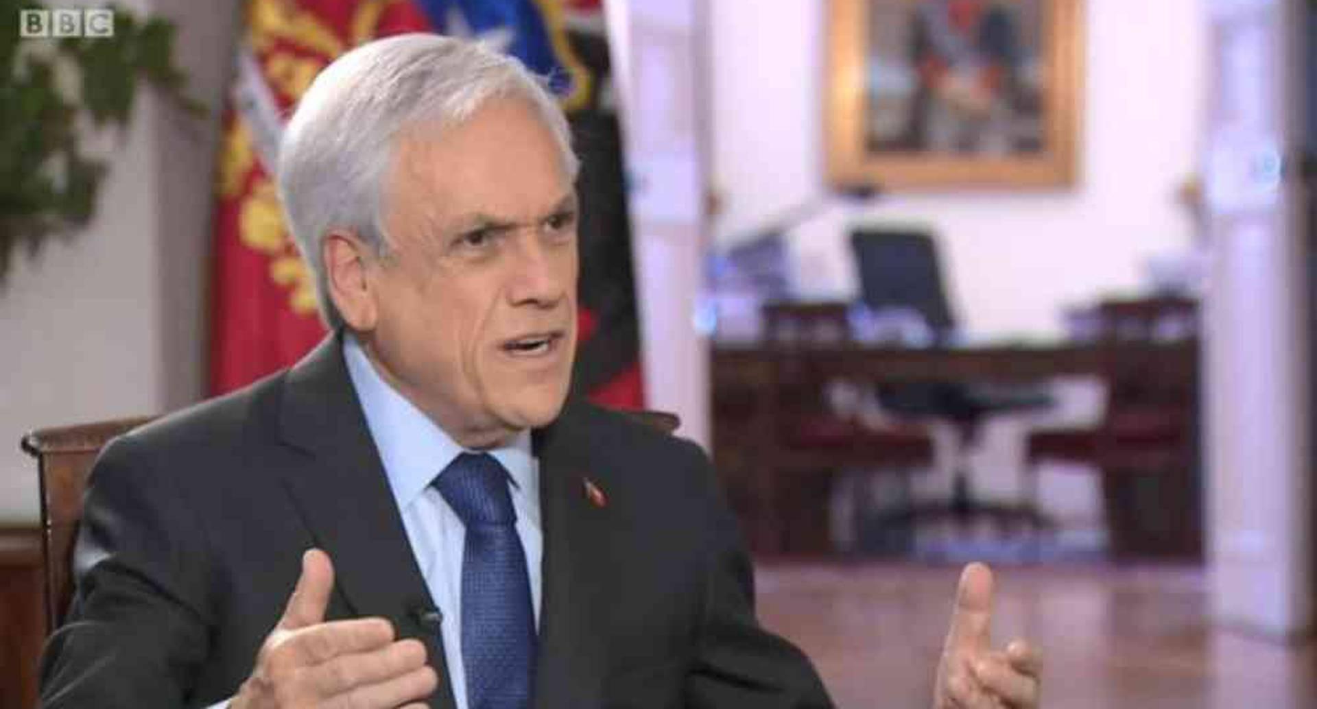 """""""Chile sigue siendo un país muy desigual y es por eso que estamos luchando para vencer la pobreza y reducir la desigualdad, pero no es el país más desigual de América Latina"""", dijo el presidente Piñera."""