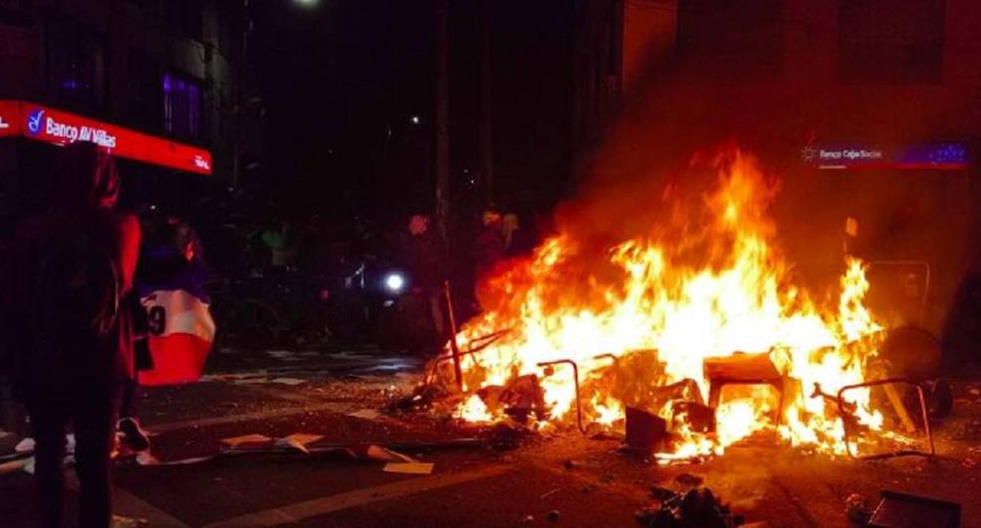 El ELN supuestamente aceptó su participación en las acciones violentas de las protestas del 9 de septiembre