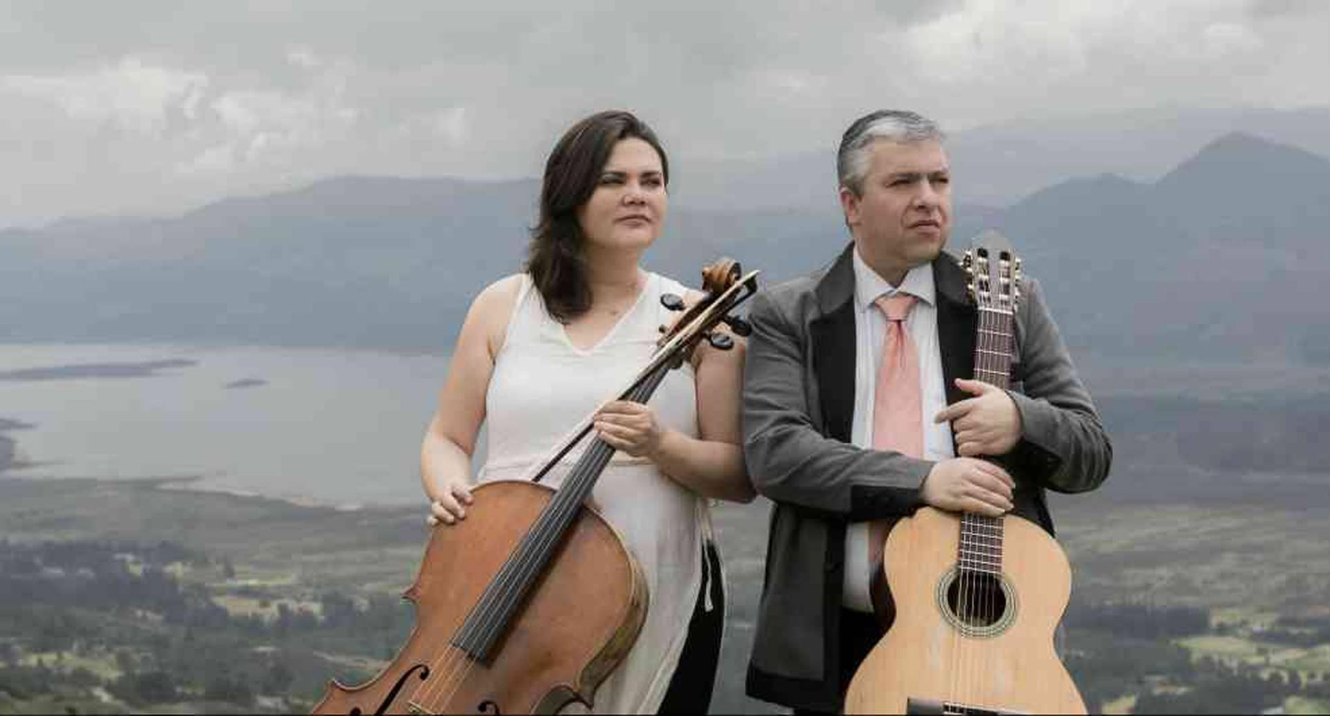 Dúo Villa-Lobos. Foto cortesía del grupo musical