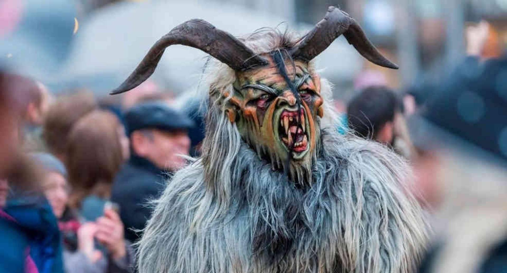 ¿Conoces al temible Krampus? Foto: Getty Images/BBC