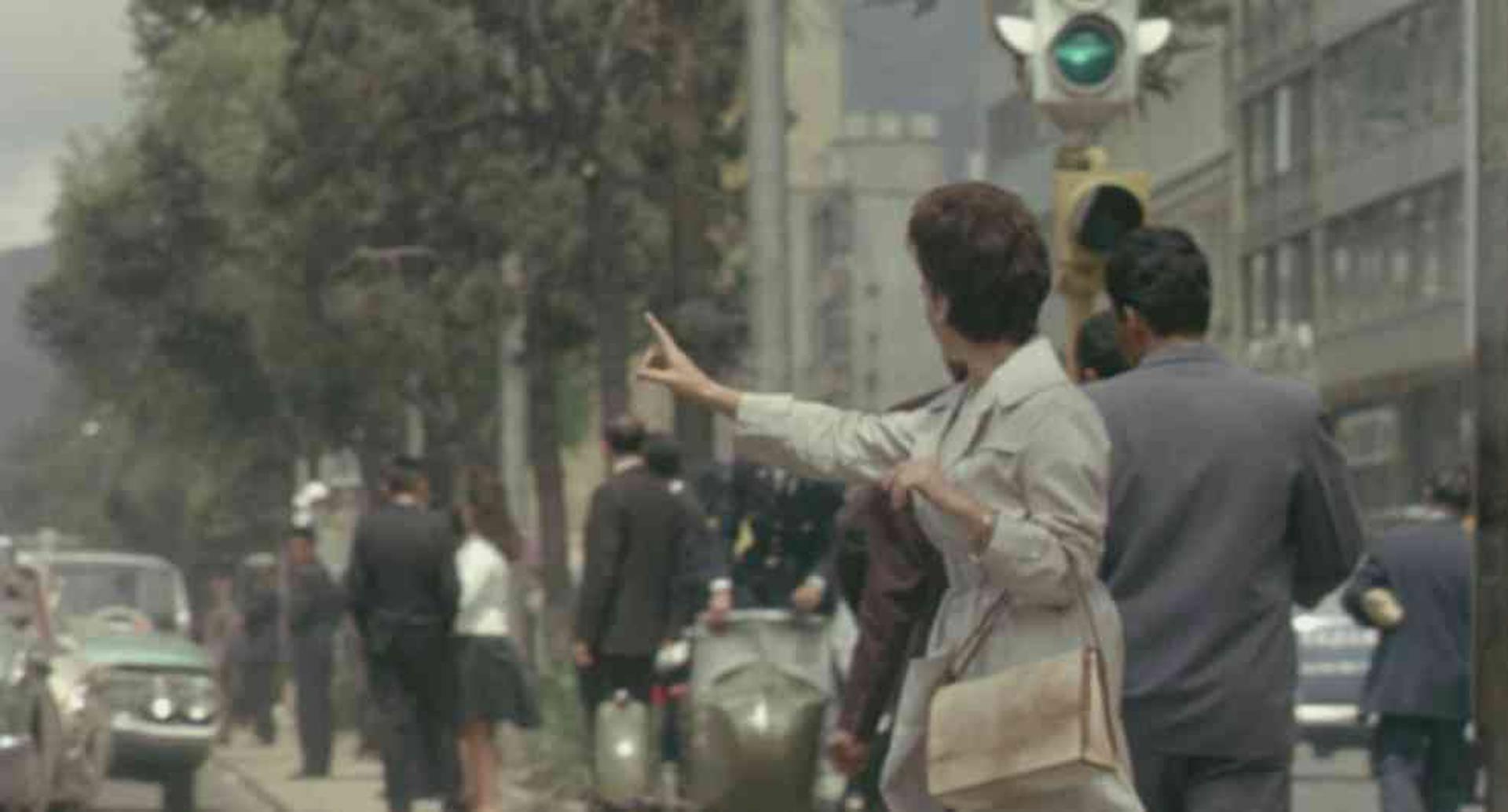 Imagen de la película Rhapsody Bogotá. Cortesía de la Cinemateca de Bogotá