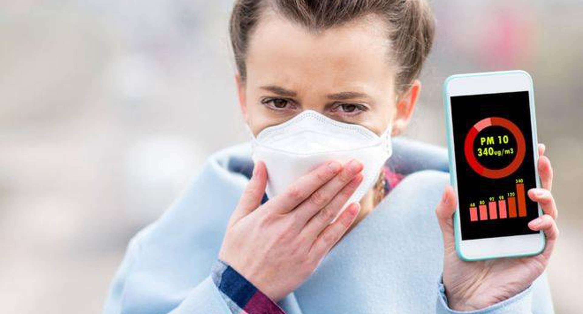 Nueve de cada 10 personas respira aire contaminado, de acuerdo a la Organización Mundial de la Salud. Foto: Getty Images