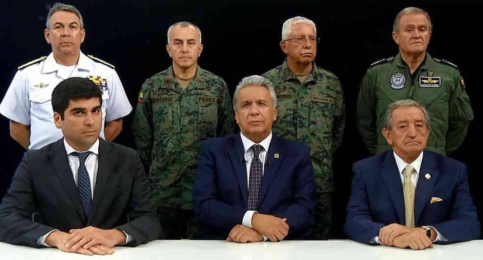 Foto:Lenín Moreno defendió su medida de eliminar los subsidios de los combustibles. Foto:Secretaría General de Comununicación/BBC