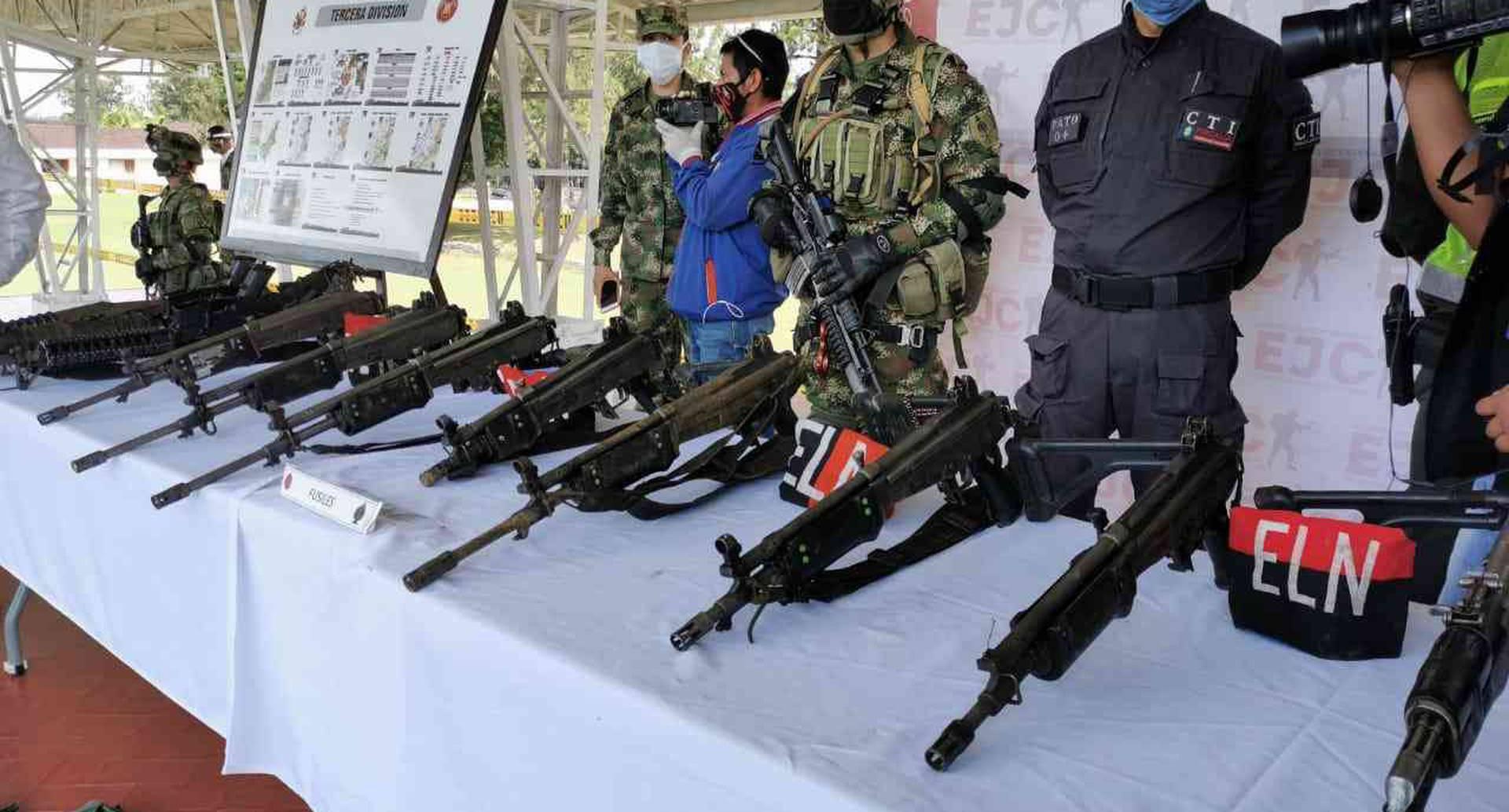 Un total de 47 integrantes de la guerrilla se han desmovilizado, desde el pasado mes de abril, de acuerdo con cifras de la entidad. Foto de archivo.