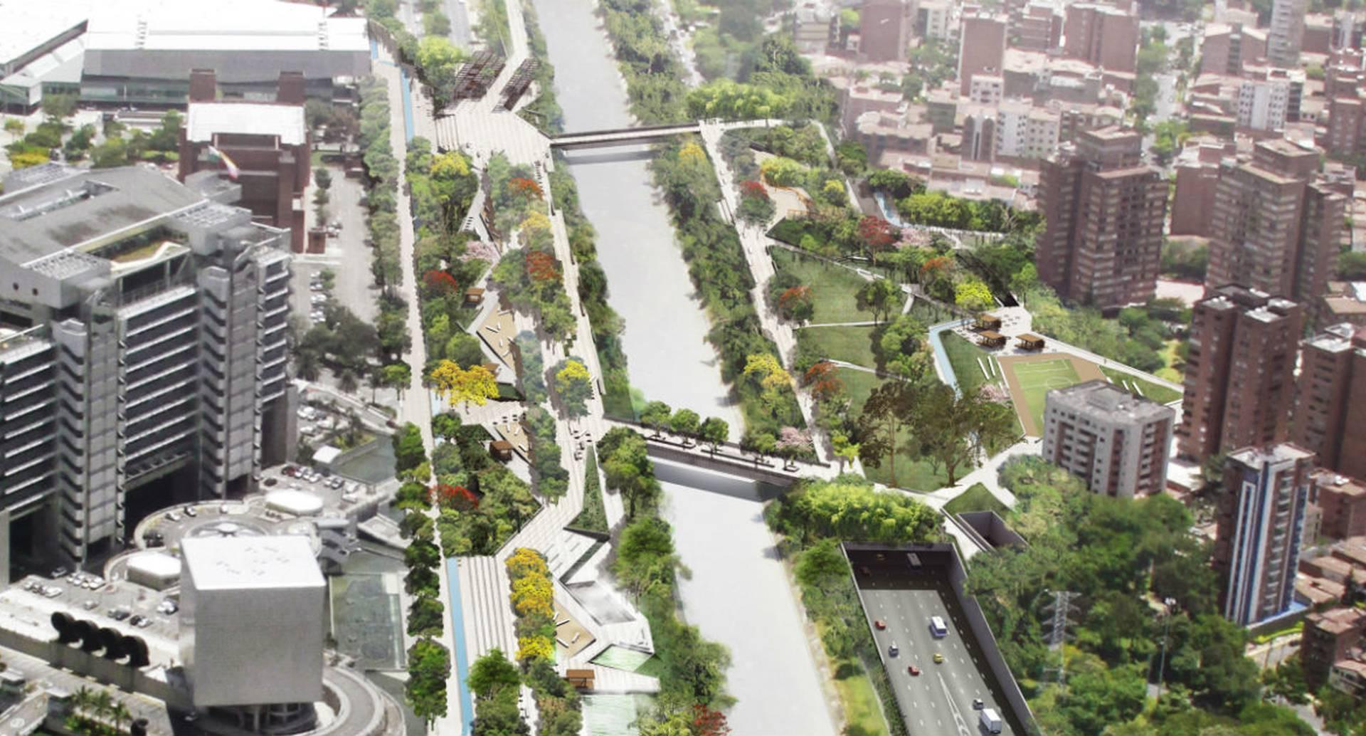 De los 20 finalistas que fueron elegidos para ganar en las cinco categorías, Parques del Río obtuvo el mérito en la categoría Urbanismo.