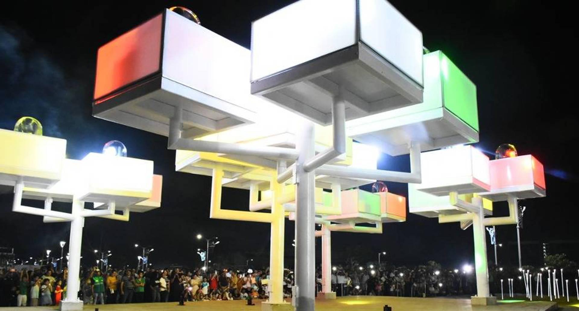 La Alcaldía de Barranquilla entregó la segunda etapa del Gran Malecón.