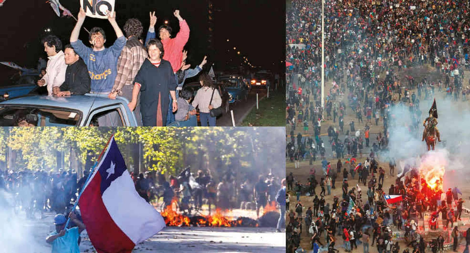 Las protestas que Chile vive desde octubre son las más fuertes desde el retorno de la democracia. Piden una reforma social y una nueva constitución.