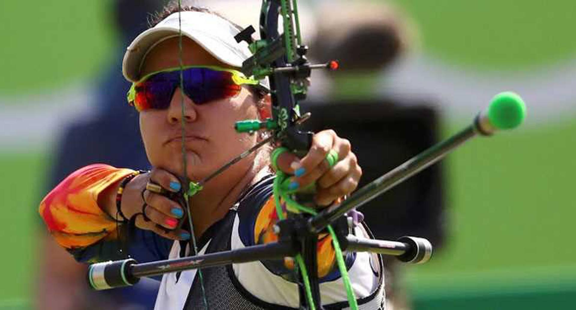 Ana María Rendón, tiro con arco -  Participó en el individual femenino, en eliminatorias quedó de 32 y perdió 6-2 contra la sueca Christine Bjerendal / Foto vía: Google.