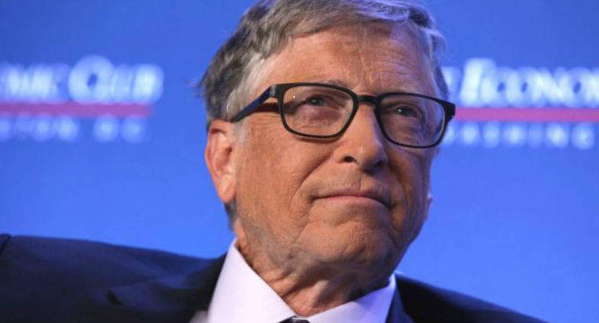 Bill Gates, fundador de Microsoft y director de la Fundación Bill y Melinda Gates.