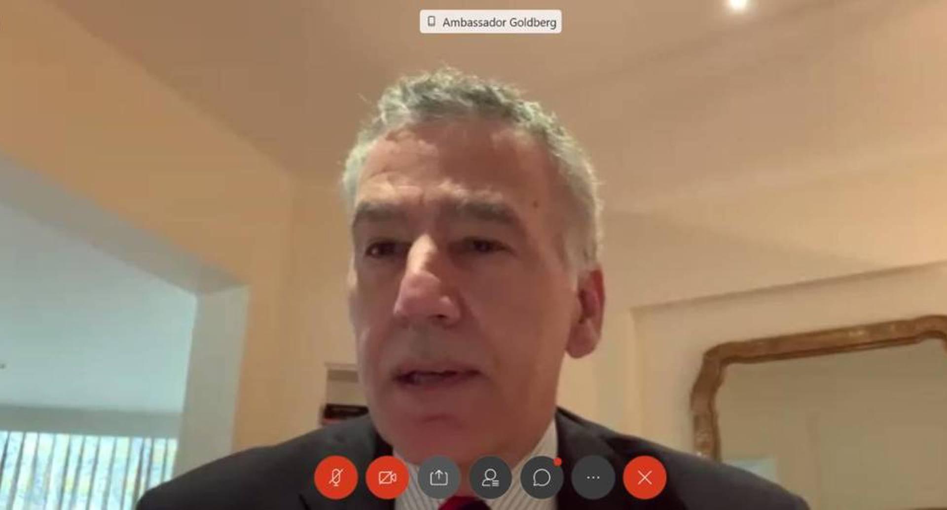 Philip Goldberg, embajador de EE. UU. en Colombia