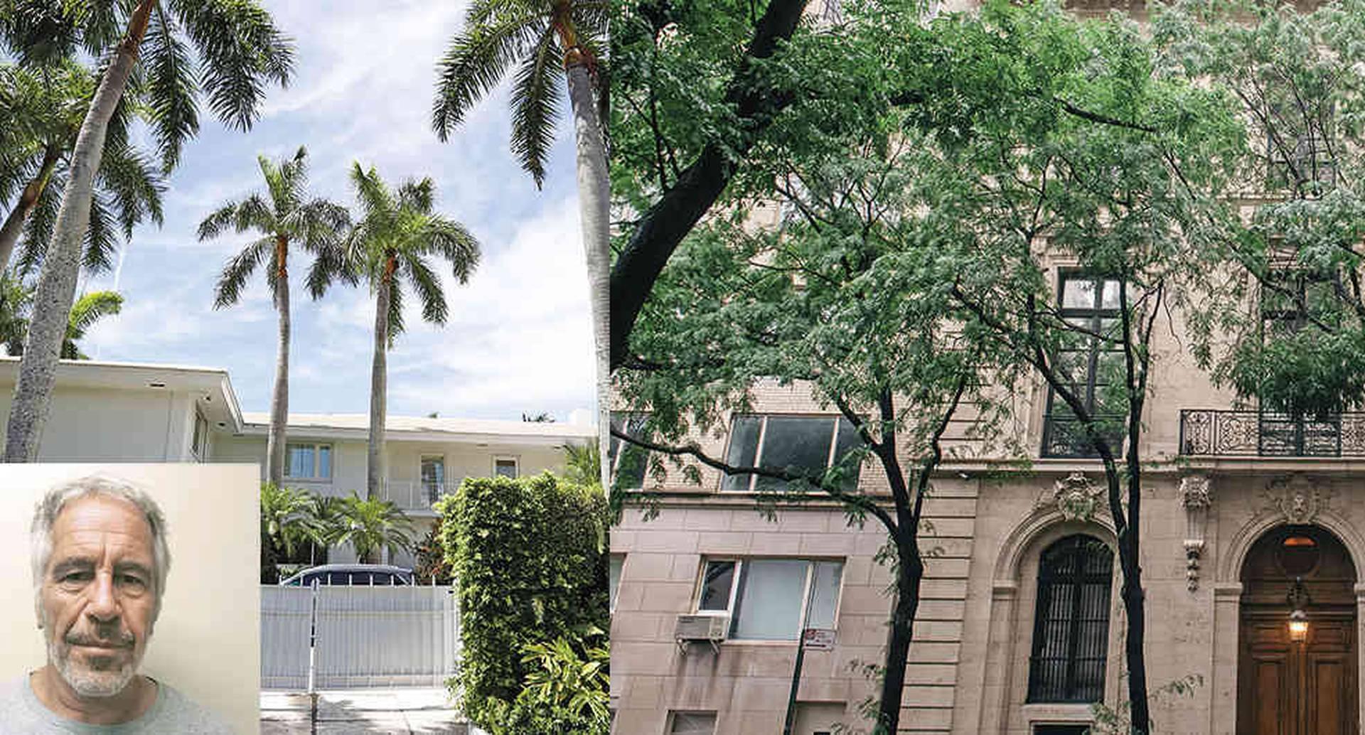 Caso Epstein: salen a la venta las dos mansiones en las que Jeffrey Epstein abuso de varias menores de edad.