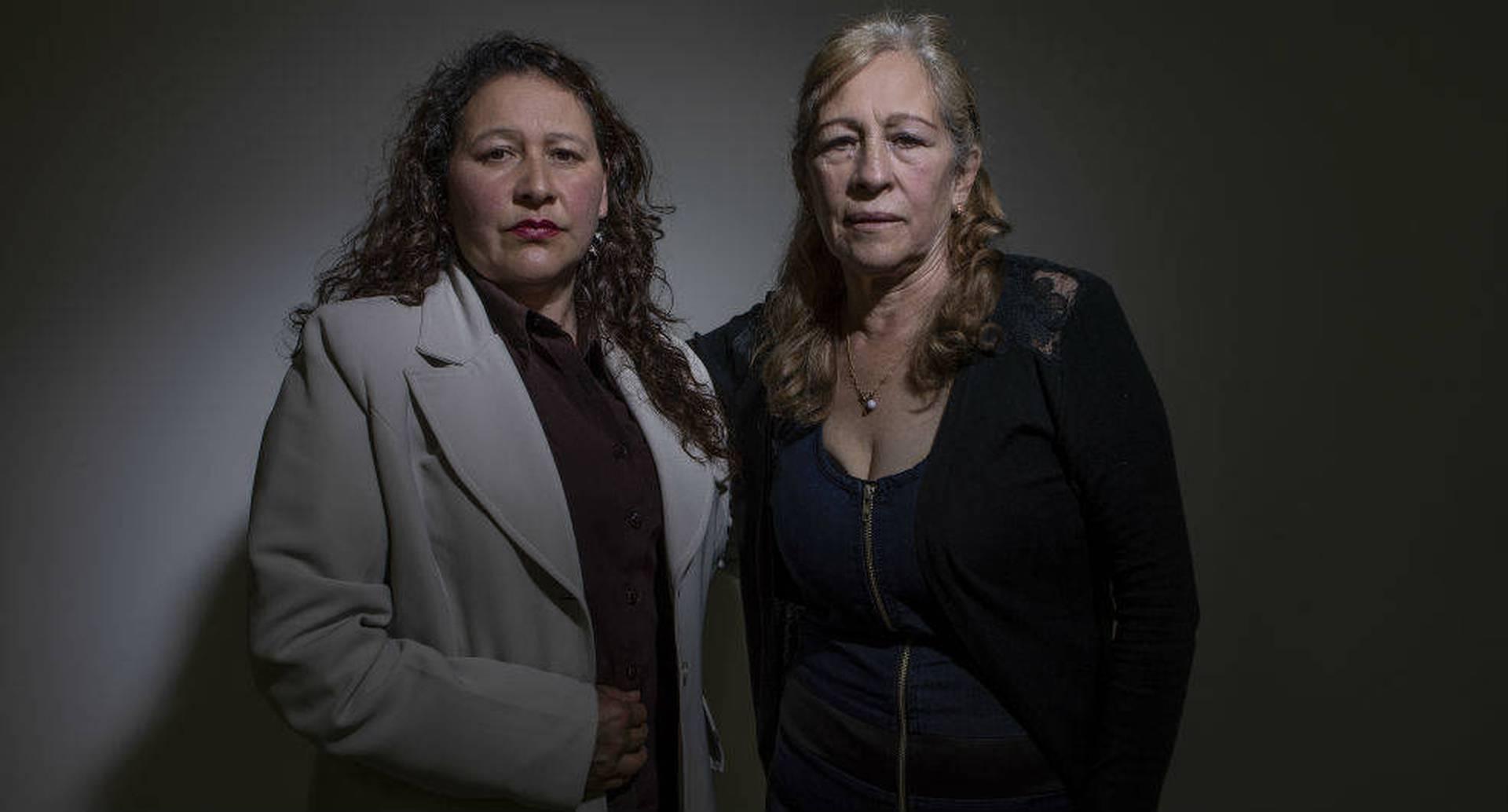 Esperanza Rojas y Ana María Páez.