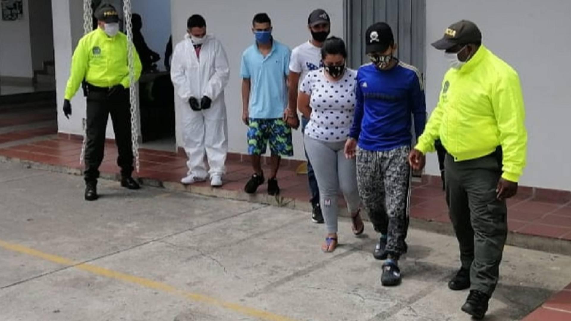 Judicializados 8 presuntos integrantes de  'Los Blindados'