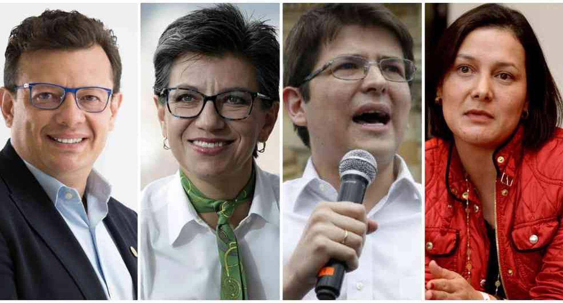 Faltan pocos días para inscribir las candidaturas a la Alcaldía de Bogotá y todavía no han llegado a acuerdos programáticos ni se sabe quién representará a la izquierda o a la derecha.