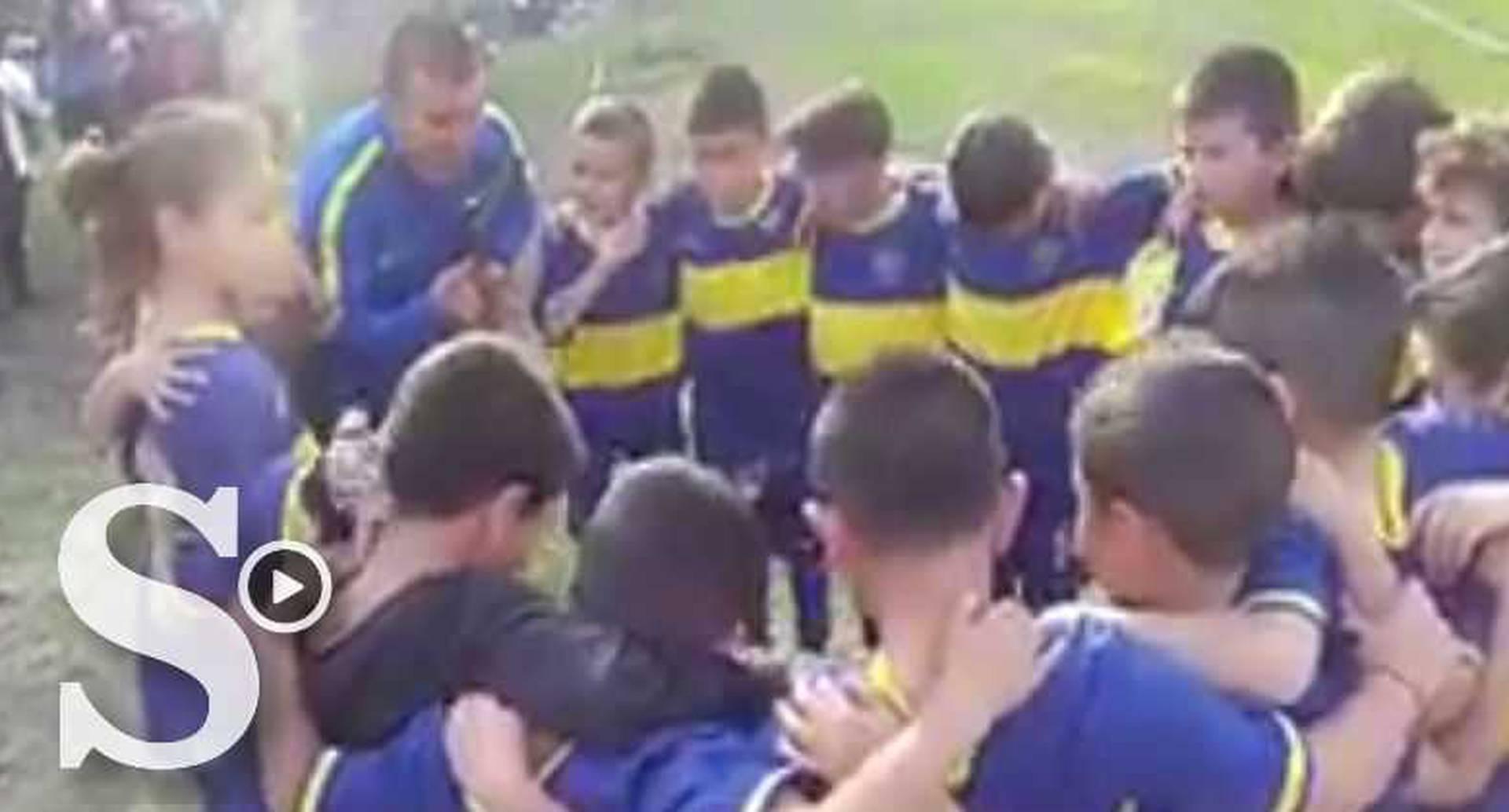 El video publicado por Boca Juniors se viralizó en cuestión de horas.