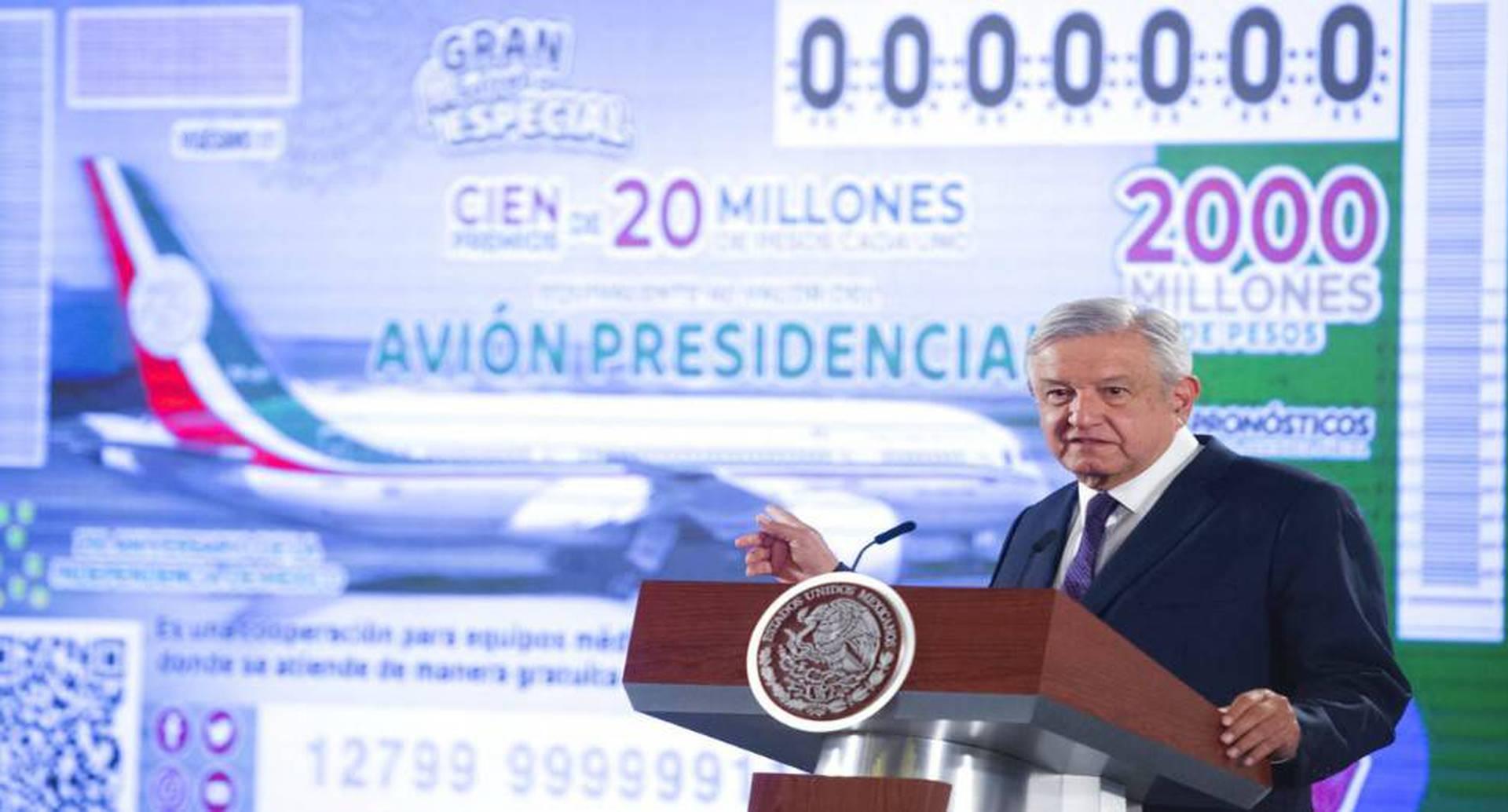 La rifa se llevará a cabo el 15 de septiembre, día de la conmemoración de la independencia de México. Foto: AP.