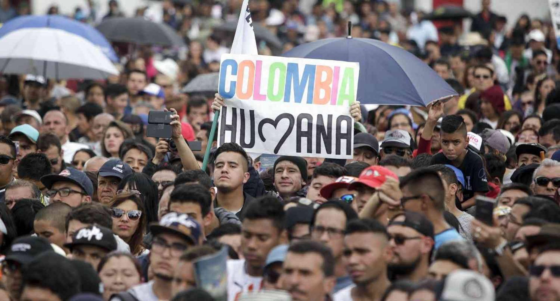 Soacha fue el epicentro del relanzamiento de la campaña de Petro. Foto: Diana Rey Melo