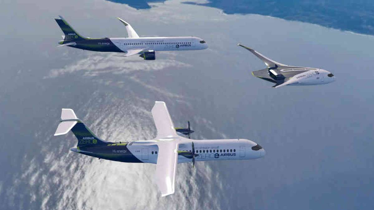 Airbus Presentó Sus Primeros Aviones Impulsados Por Hidrógeno