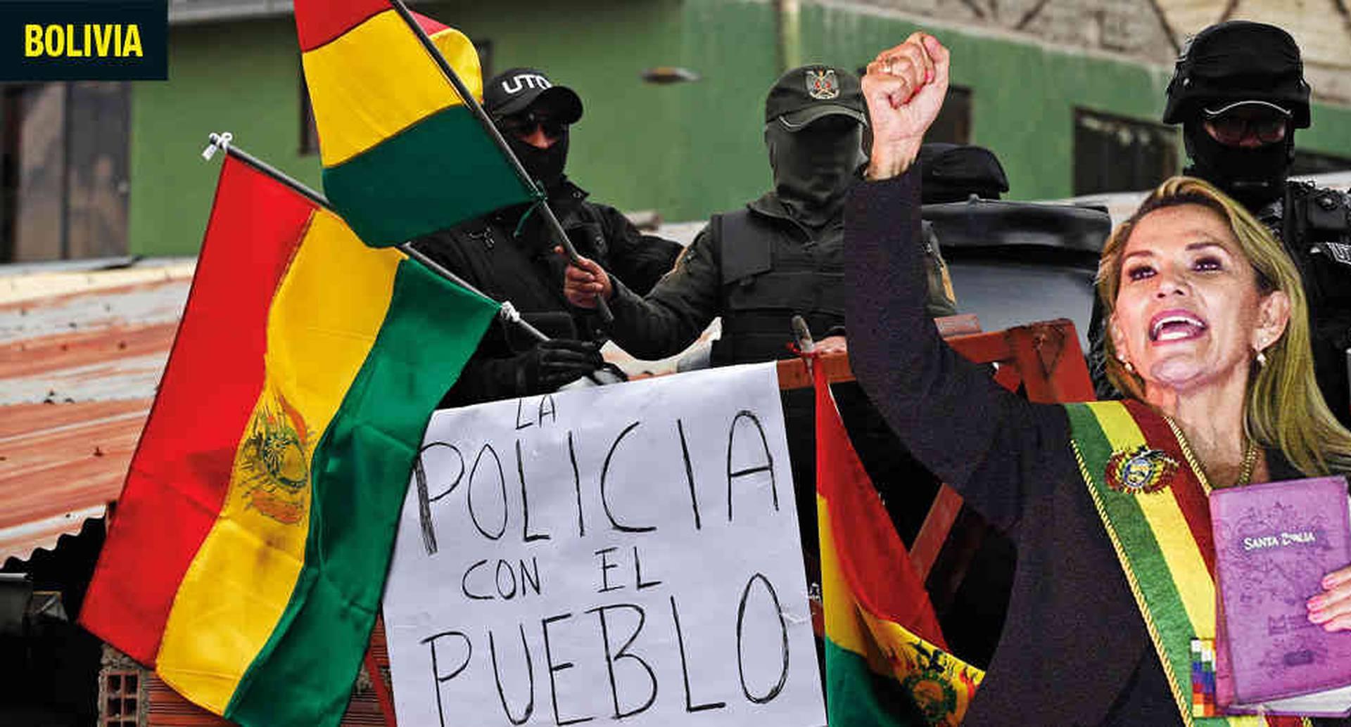 La conservadora Jeanine Áñez se posesionó como presidenta interina de Bolivia, después de que los militares le 'sugirieron' a Evo Morales renunciar ante las masivas protestas contra su cuarta reelección. Evo voló a México, en donde su homólogo le dio asilo.