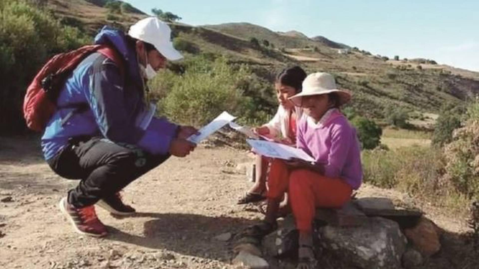 Educación en cuarentena - Getty BBC