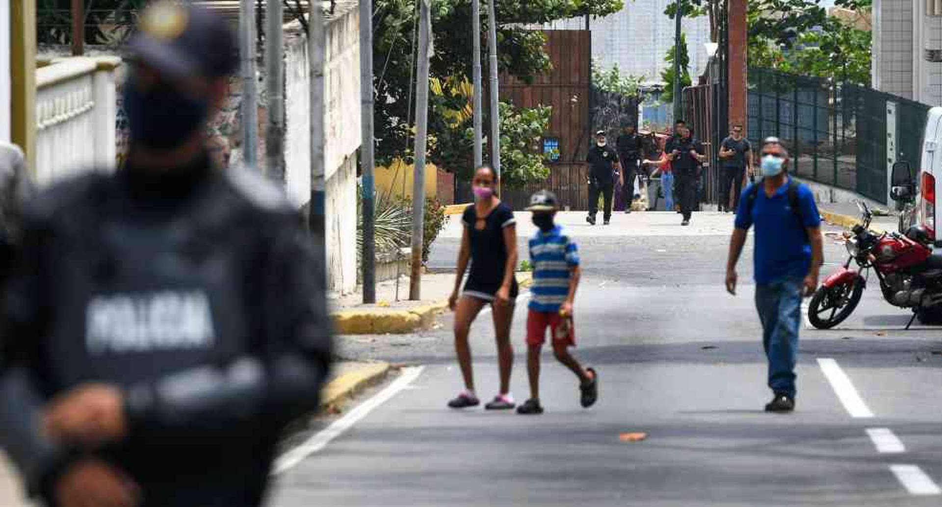 Represión en Venezuela aumentó durante pandemia de covid-19: Human Rights Watch.