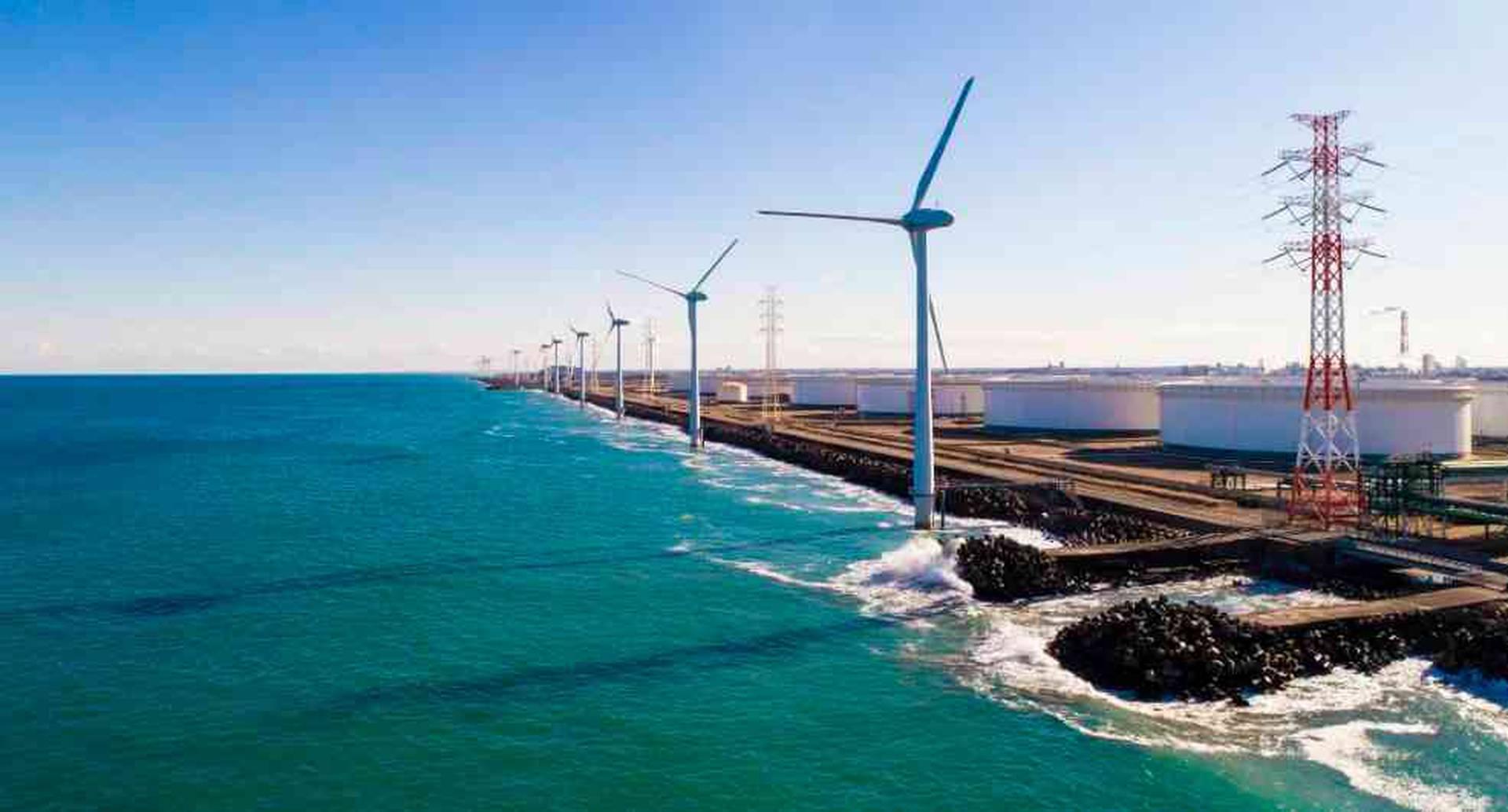 La operación de una turbina eólica de 2 megavatios requiere de 5 a 12 toneladas de cobre para su construcción. Foto: archivo/Semana.